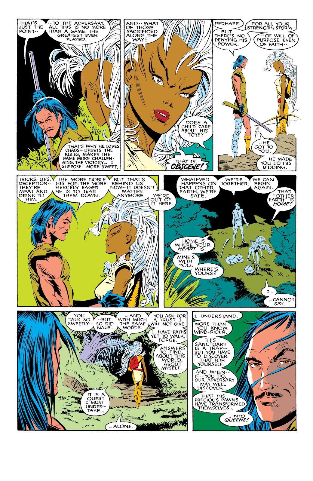 Read online X-Men Milestones: Fall of the Mutants comic -  Issue # TPB (Part 1) - 45