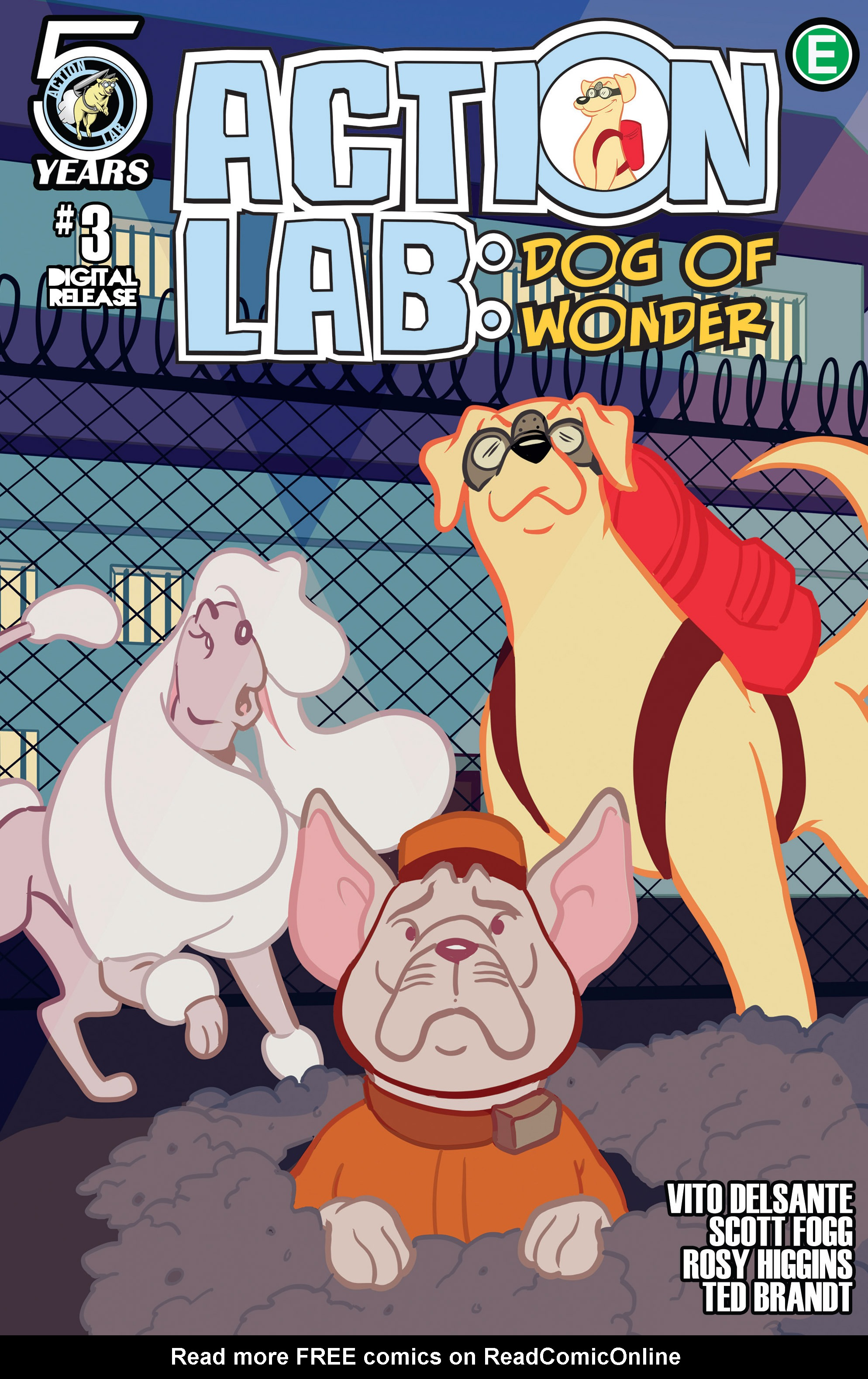 Action Lab, Dog of Wonder 3 Page 1