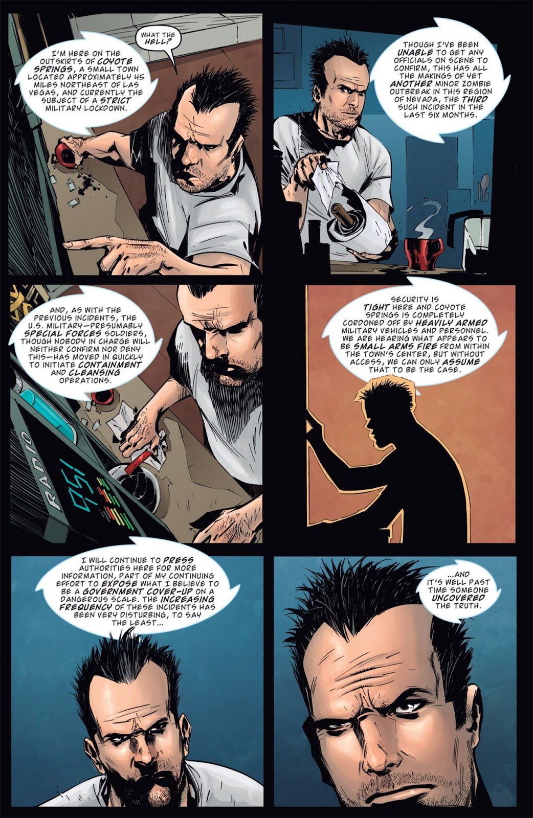 Read online Dead Rising: Road to Fortune comic -  Issue #1 - 17