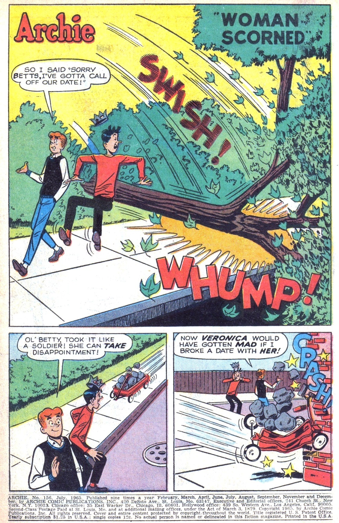 Read online Archie (1960) comic -  Issue #156 - 3