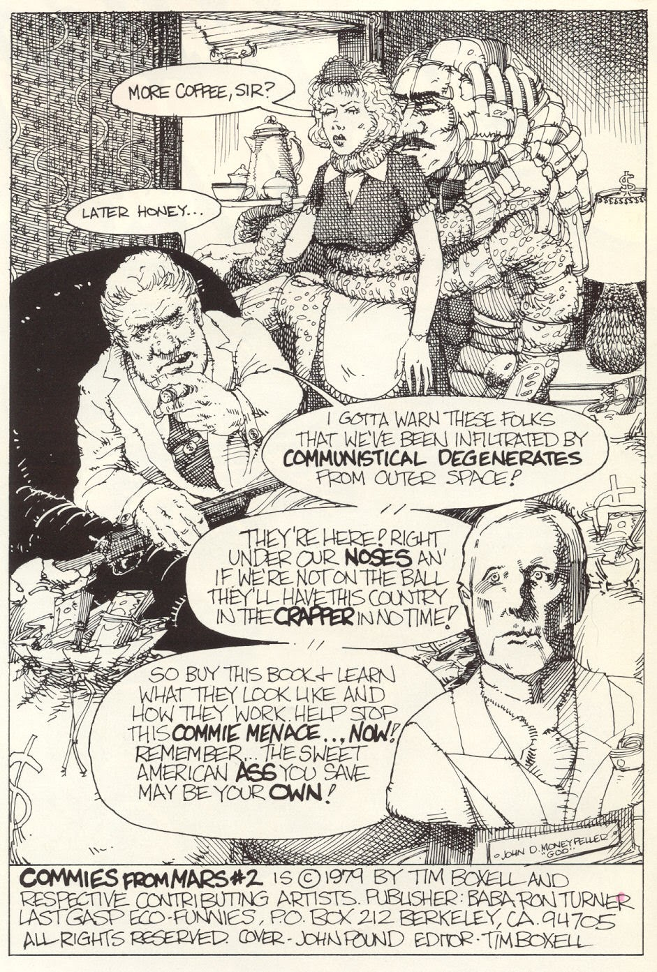 Commies from Mars: The Red Planet issue 2 - Page 3