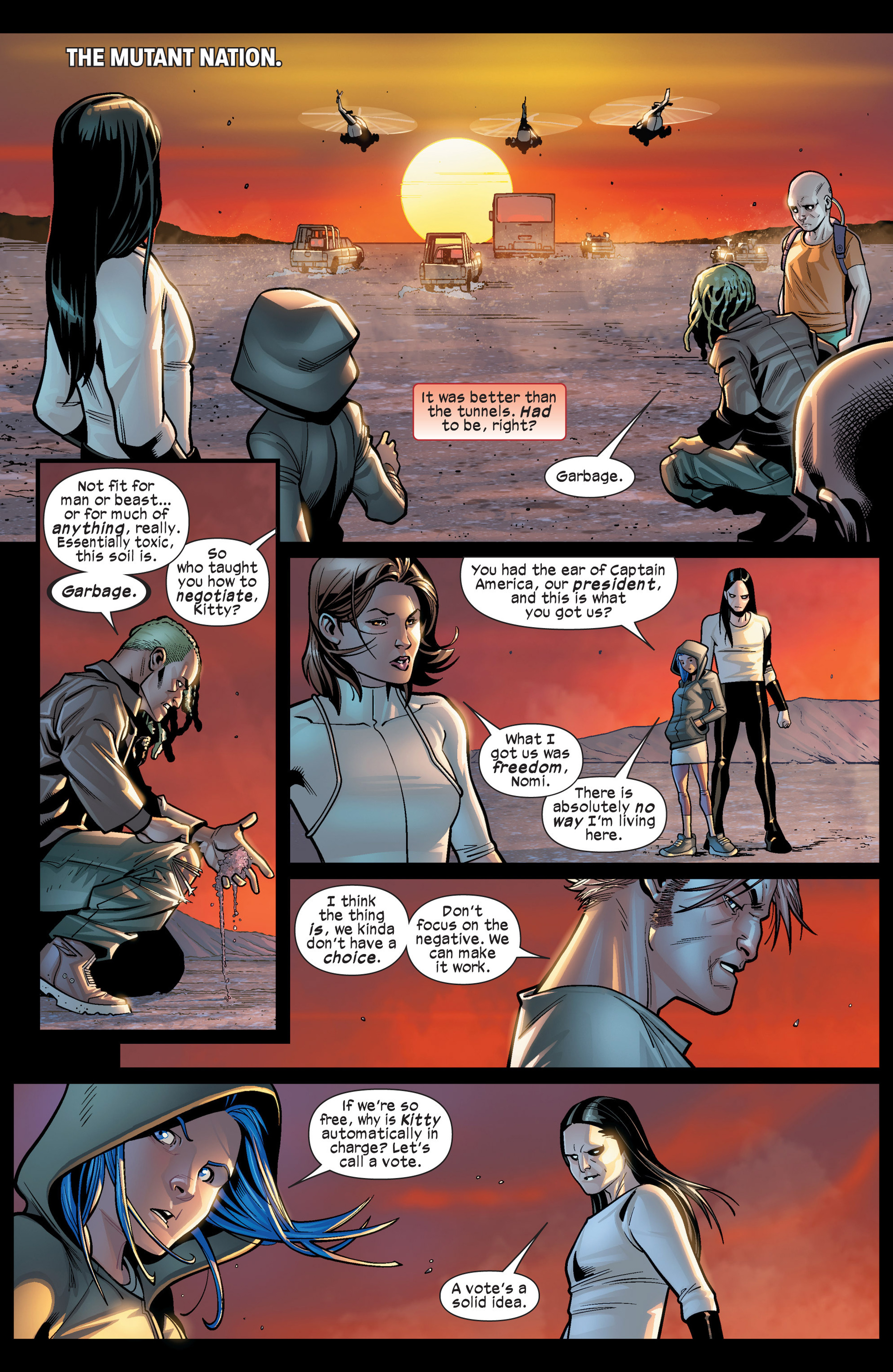 Read online Ultimate Comics X-Men comic -  Issue #19 - 6