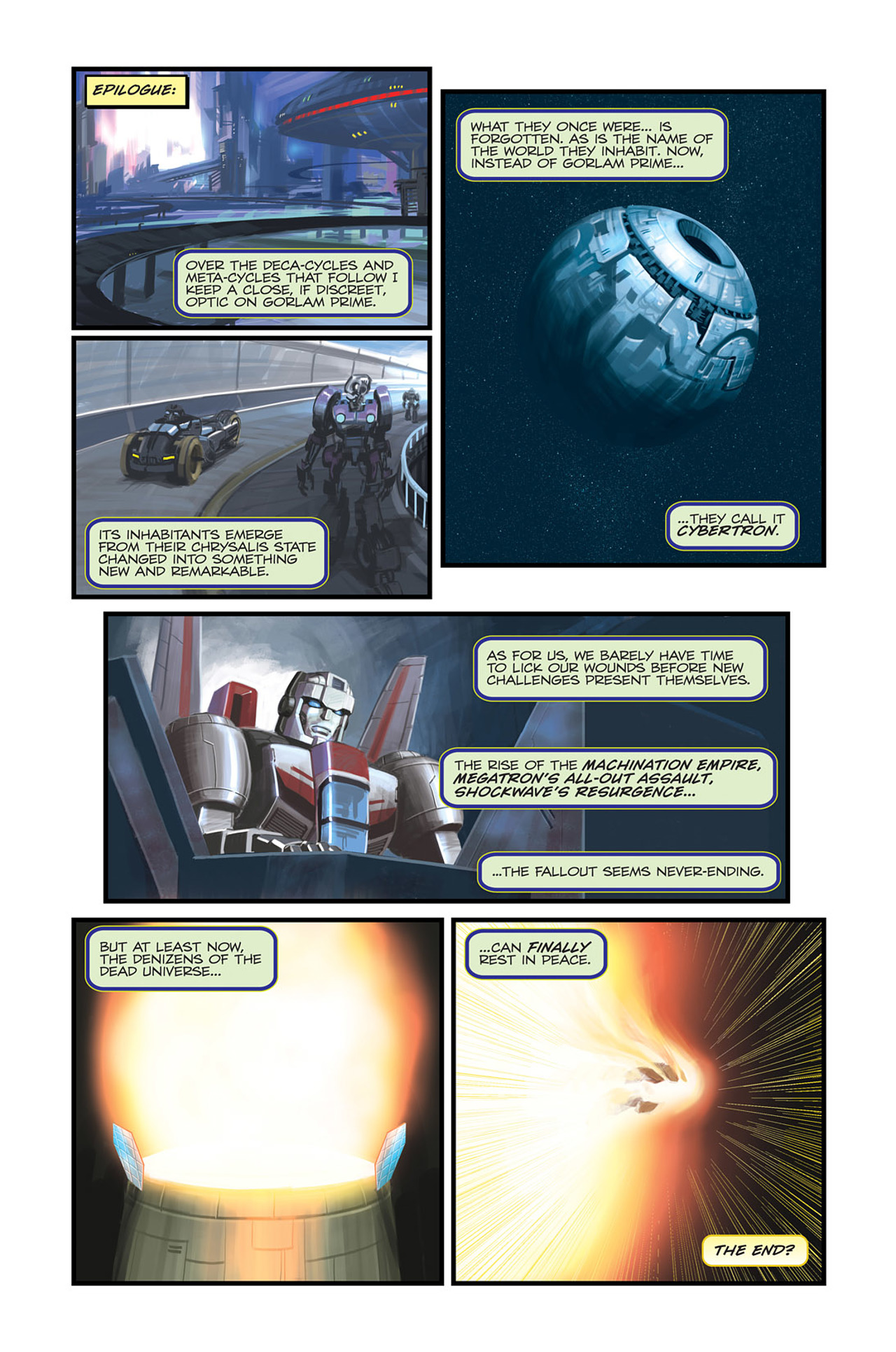 Read online Transformers Spotlight: Sideswipe comic -  Issue # Full - 26