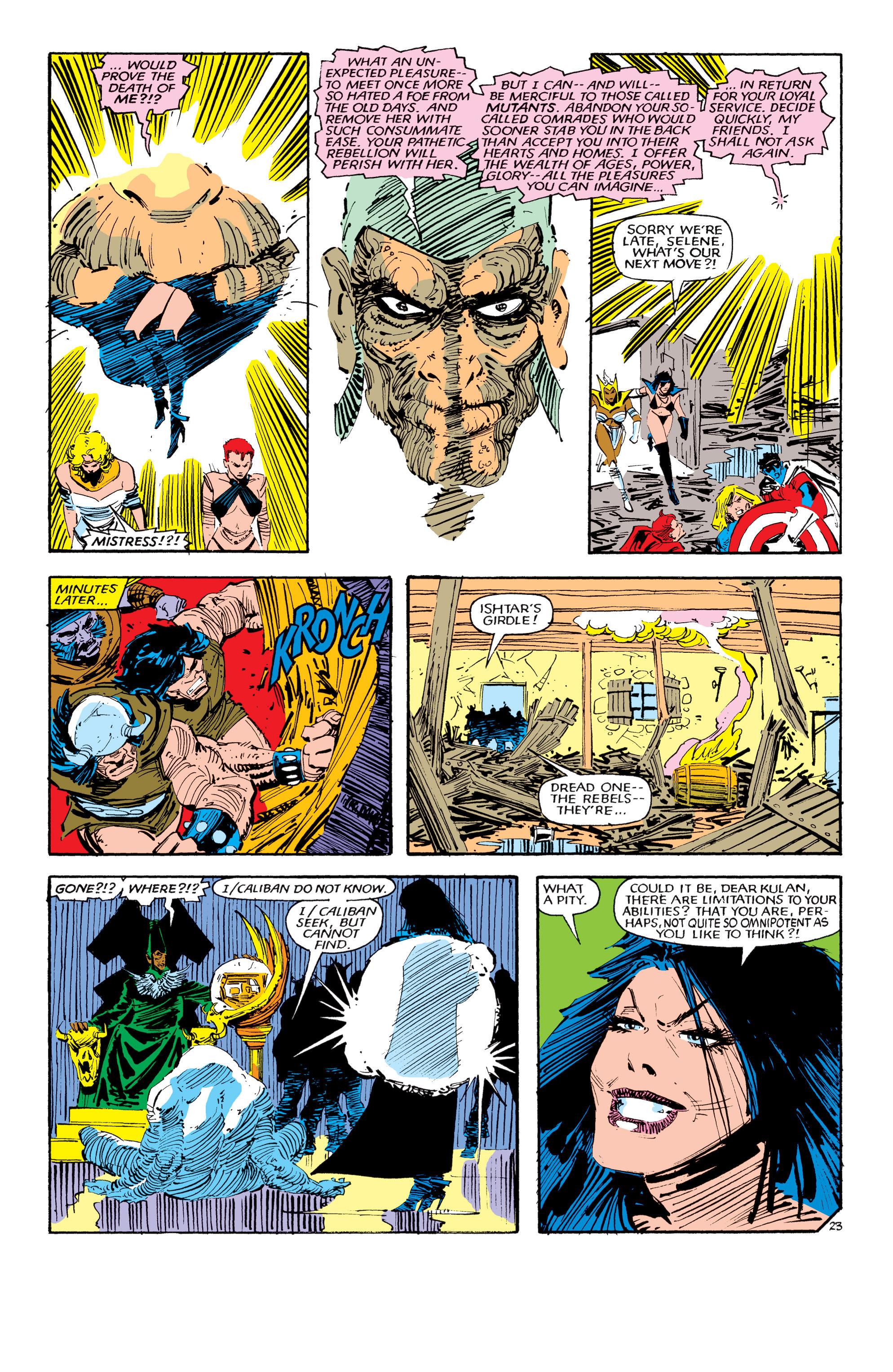 Read online Uncanny X-Men (1963) comic -  Issue #190 - 23