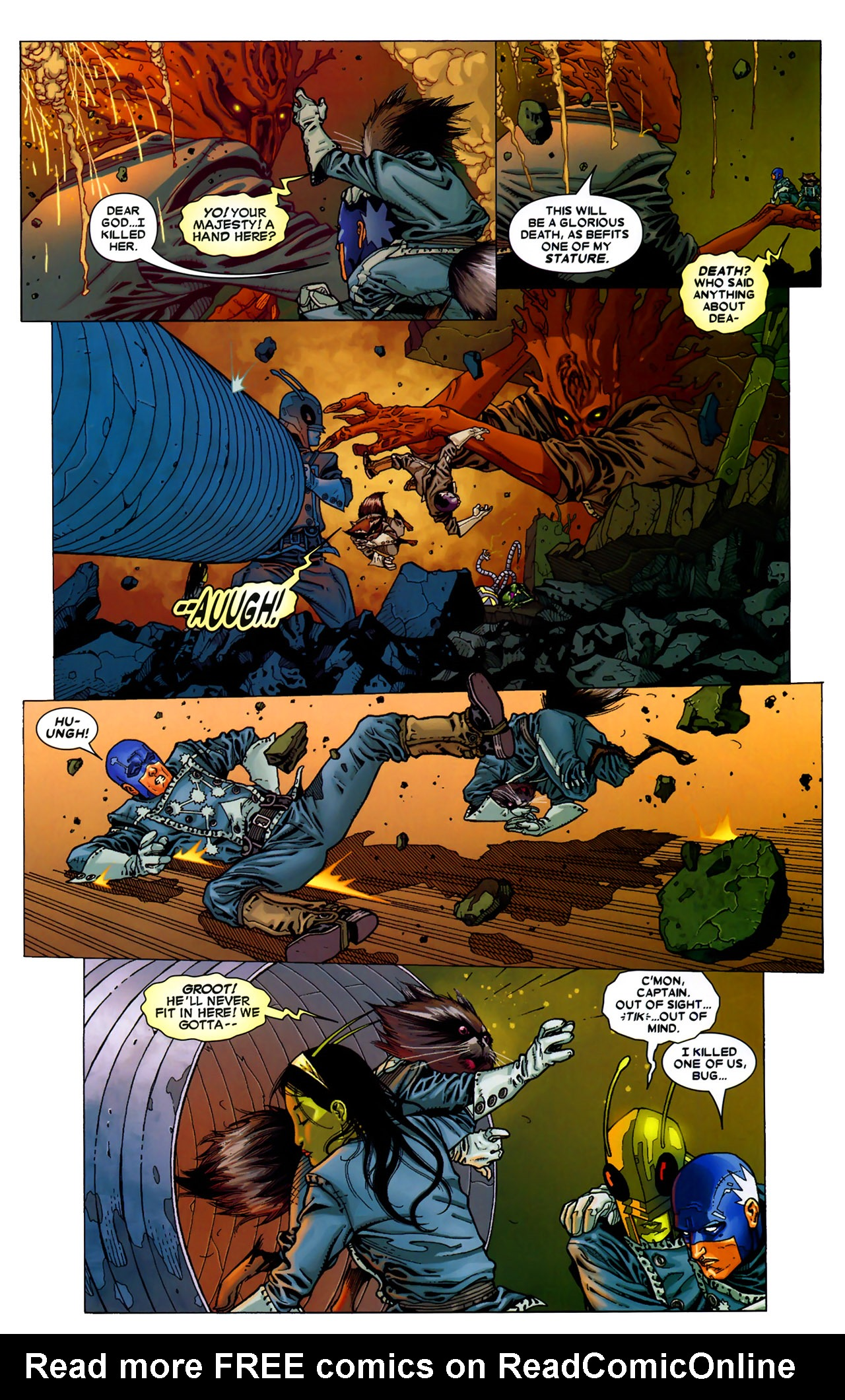 Read online Annihilation: Conquest - Starlord comic -  Issue #2 - 22