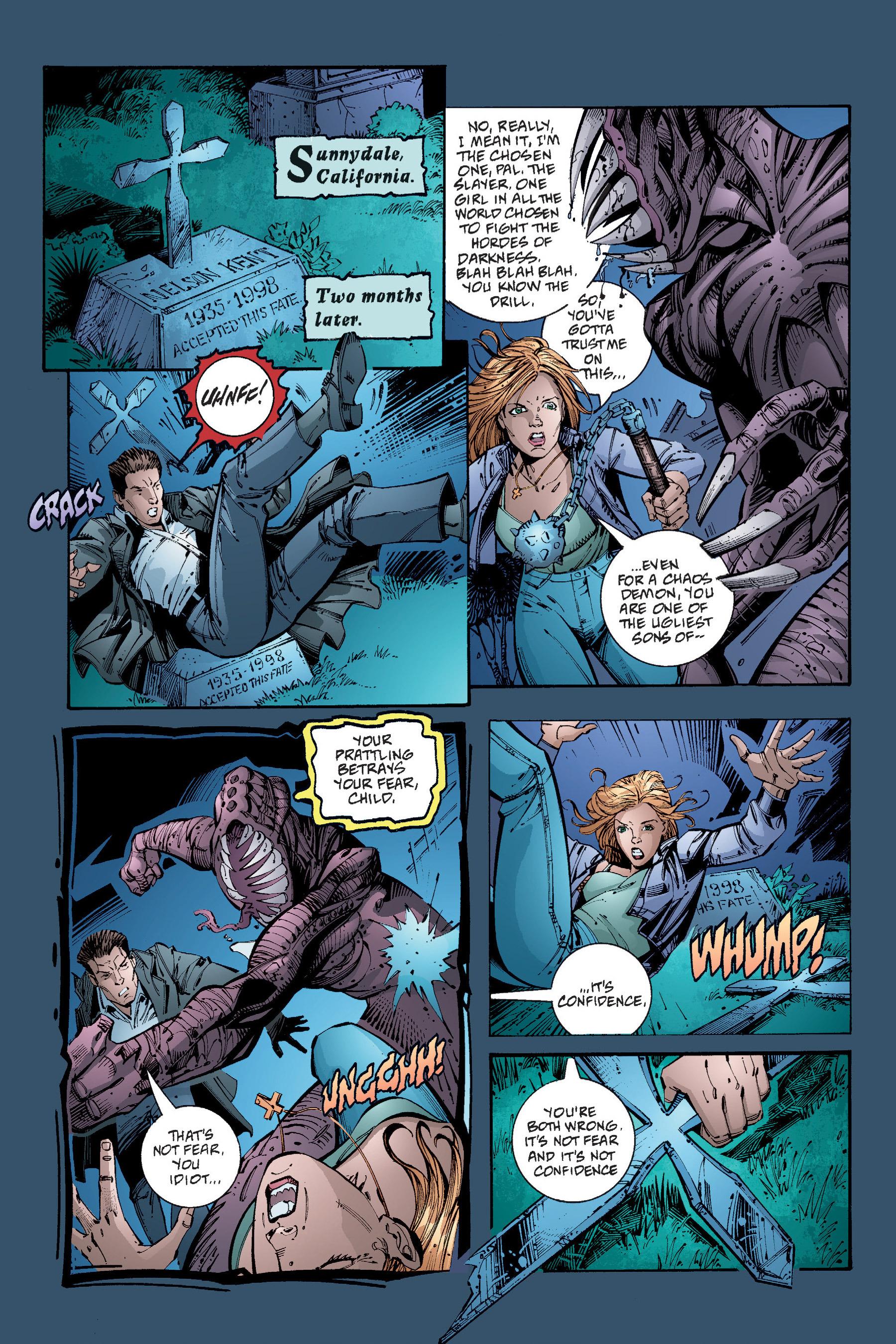 Read online Buffy the Vampire Slayer: Omnibus comic -  Issue # TPB 4 - 279