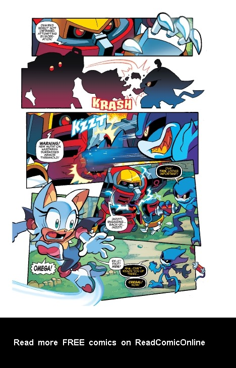 Read online Sonic Comics Spectacular: Speed of Sound comic -  Issue # Full - 226