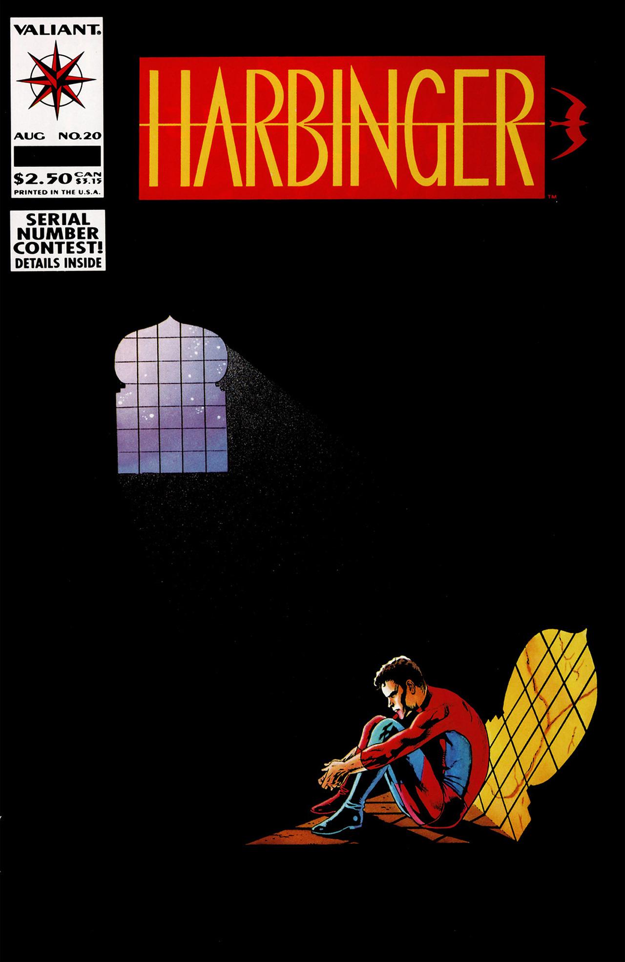 Harbinger (1992) 20 Page 1