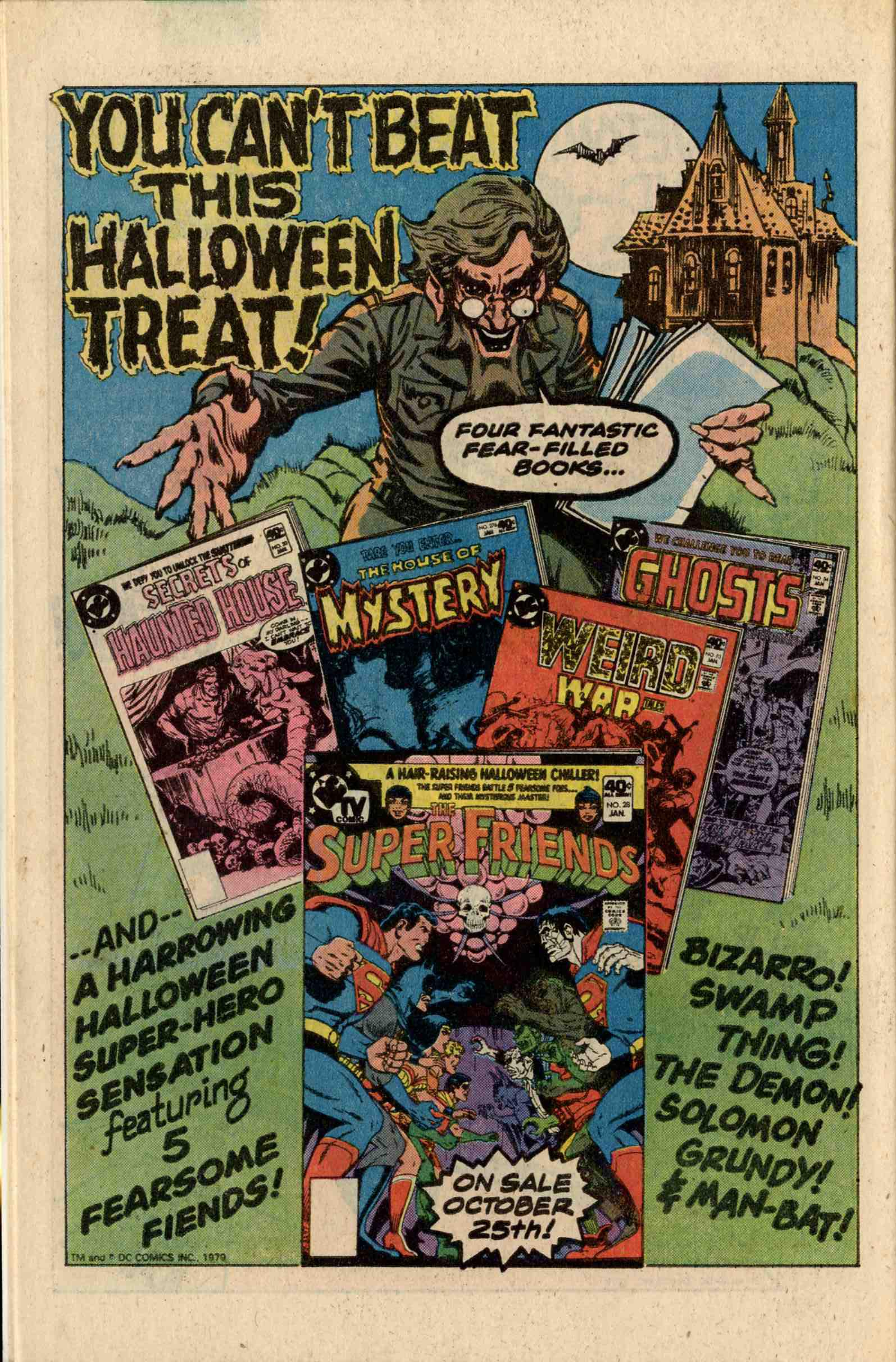 Read online Secrets of Haunted House comic -  Issue #20 - 29