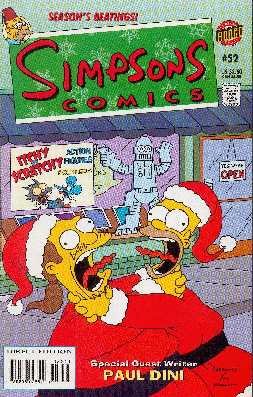 Read online Simpsons Comics comic -  Issue #52 - 1