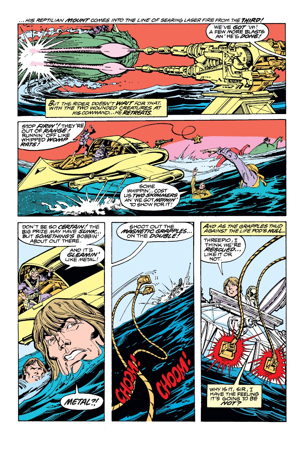 Read online Star Wars Legends: The Original Marvel Years - Epic Collection comic -  Issue # TPB 1 (Part 3) - 13