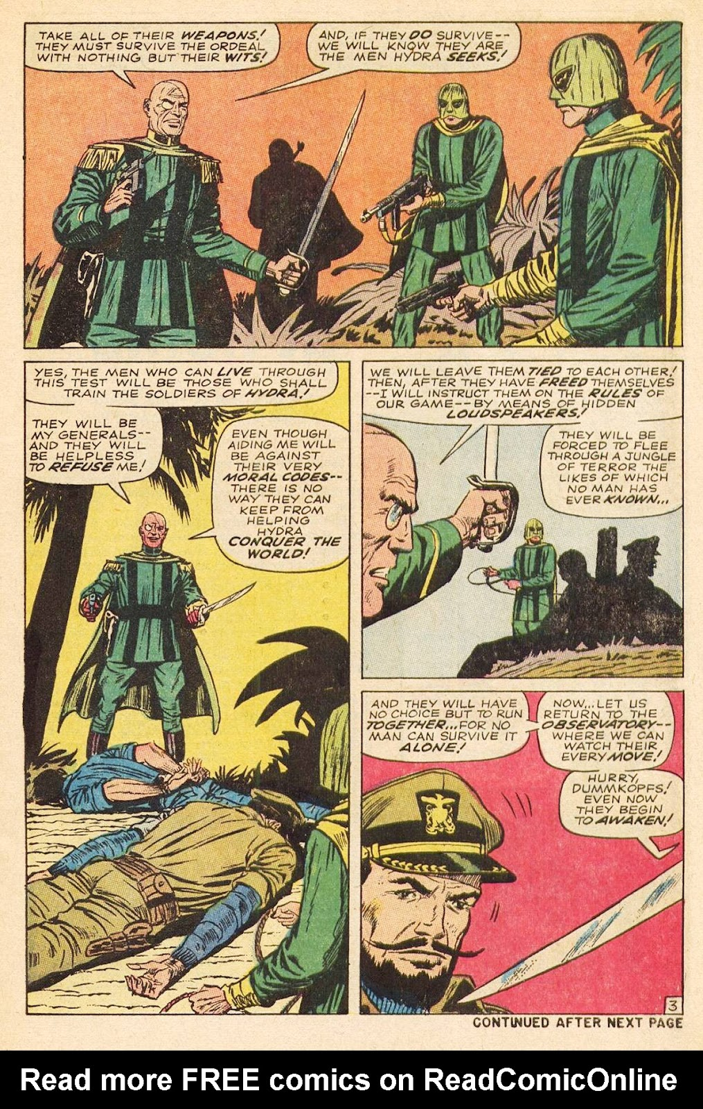 Captain Savage and his Leatherneck Raiders issue 3 - Page 5