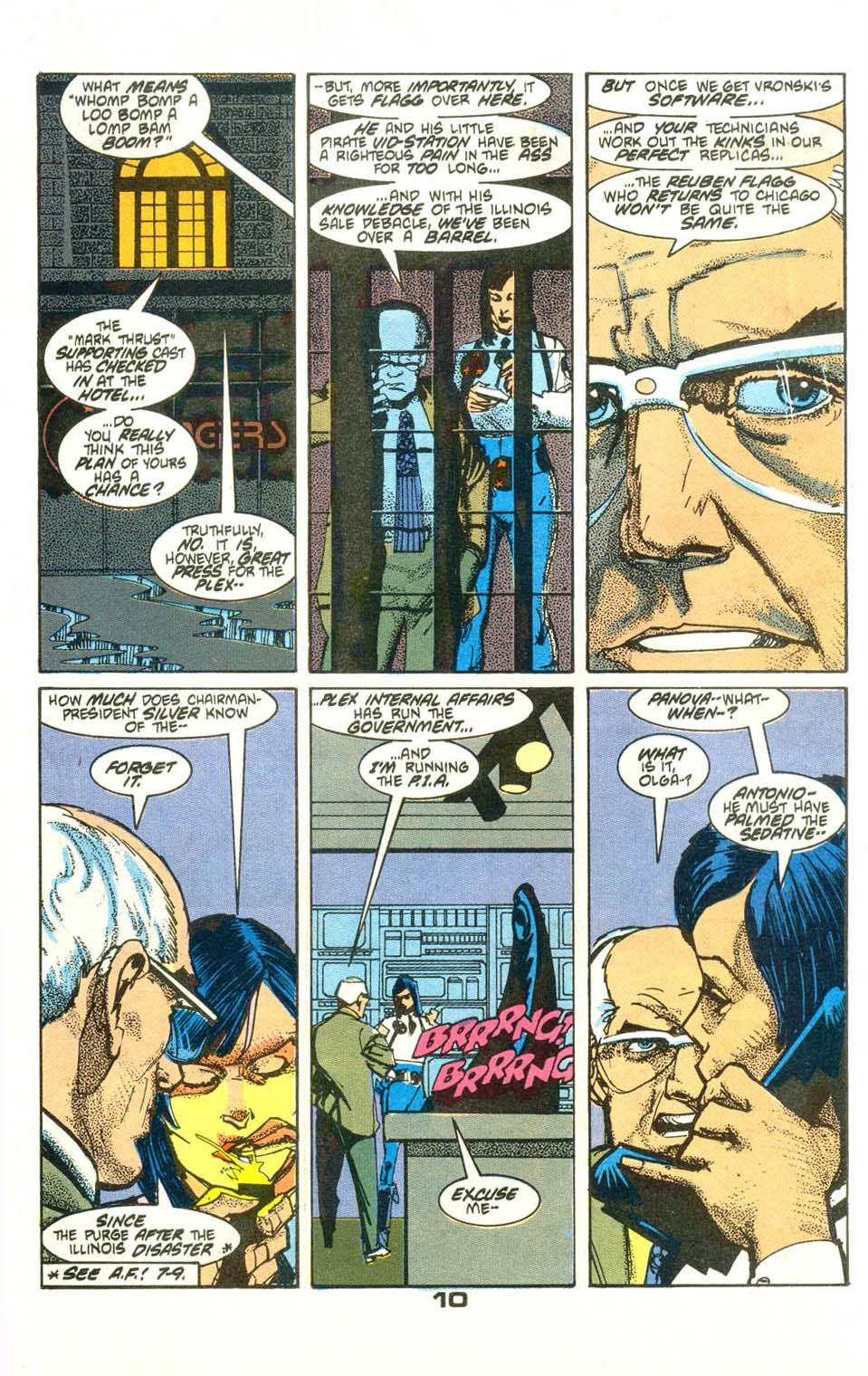 Read online American Flagg! comic -  Issue #23 - 12