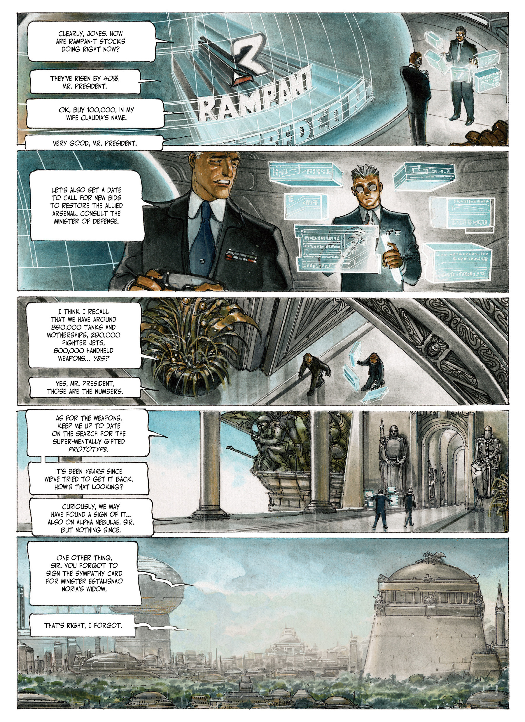 Read online The Fourth Power comic -  Issue #4 - 58