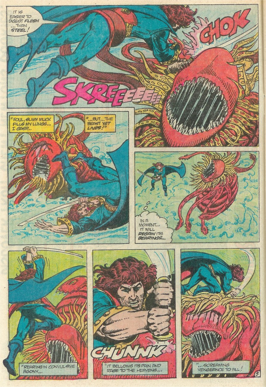 Read online Arion, Lord of Atlantis comic -  Issue #25 - 6