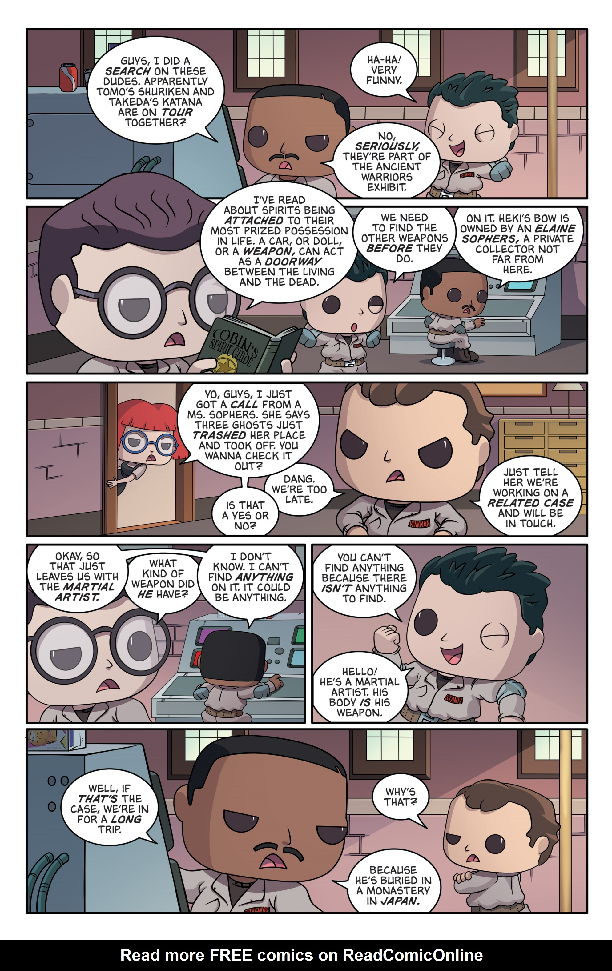 Read online Ghostbusters Funko Universe comic -  Issue # Full - 13