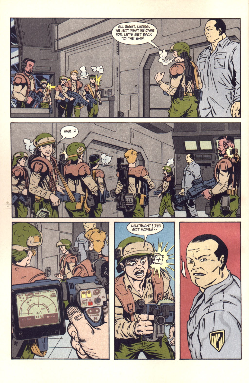 Read online Aliens: Colonial Marines comic -  Issue #9 - 4