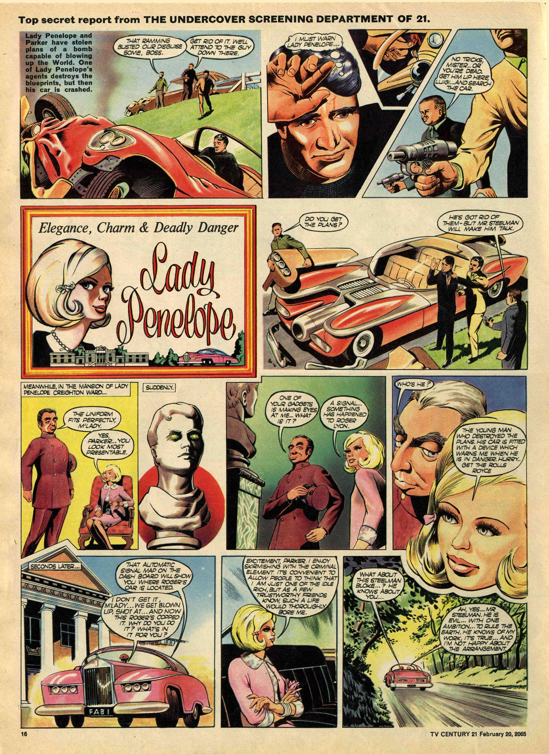 Read online TV Century 21 (TV 21) comic -  Issue #5 - 15