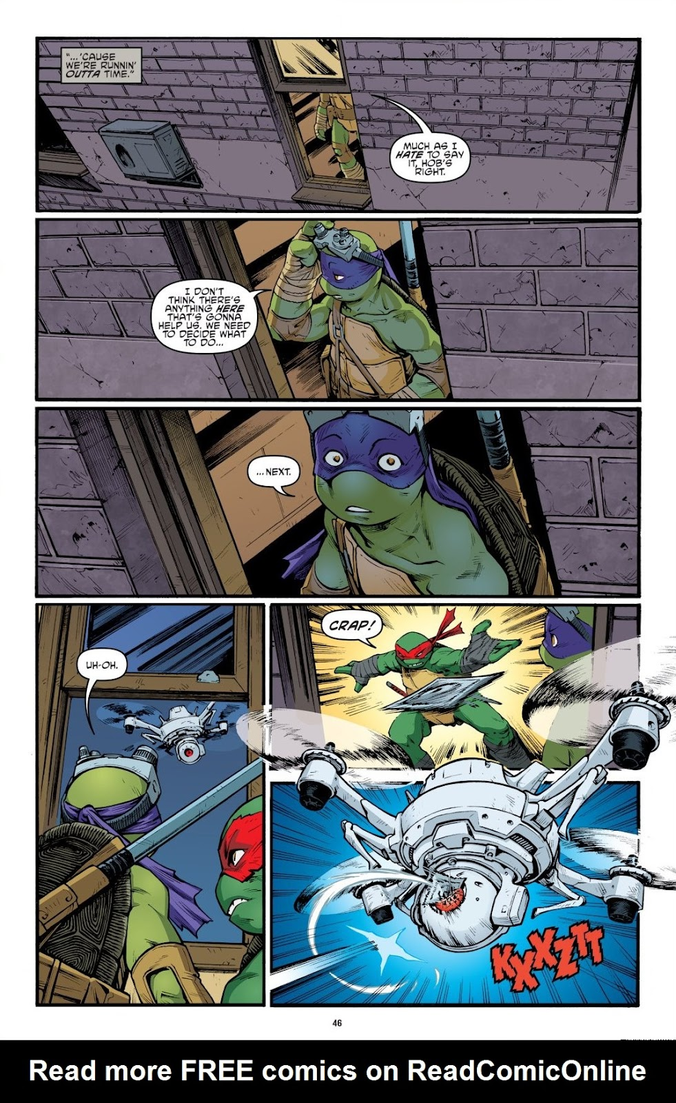 Read online Teenage Mutant Ninja Turtles: The IDW Collection comic -  Issue # TPB 9 (Part 1) - 47