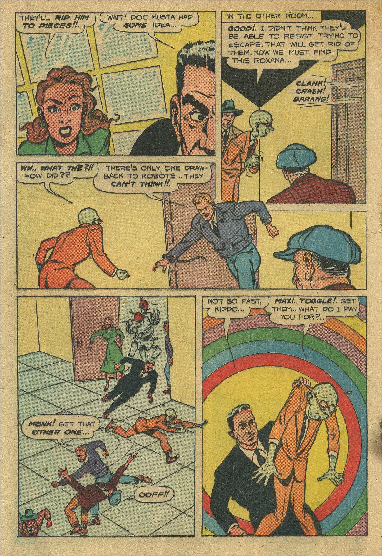 Read online Shadow Comics comic -  Issue #93 - 29