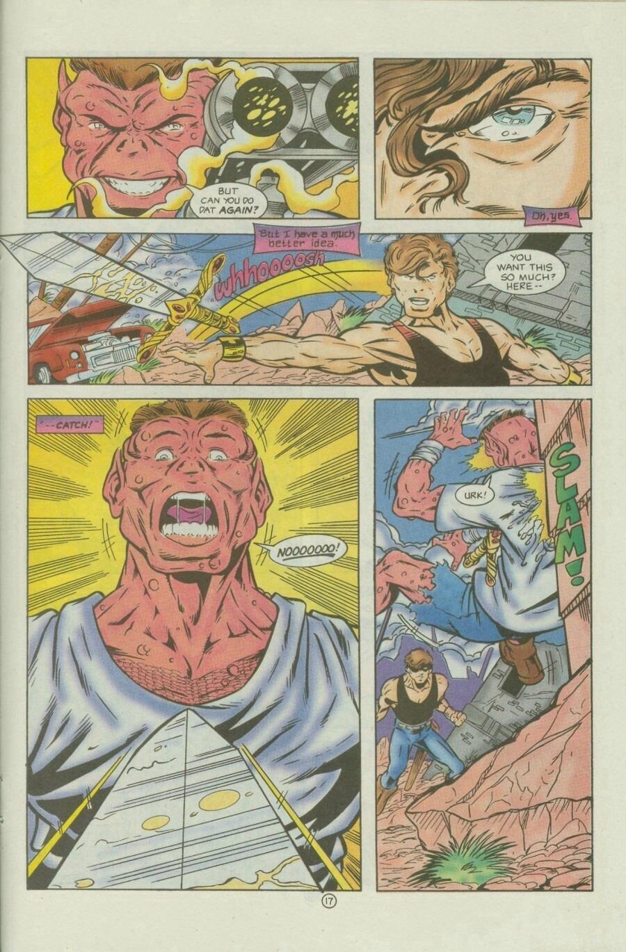Read online Ex-Mutants comic -  Issue #9 - 23