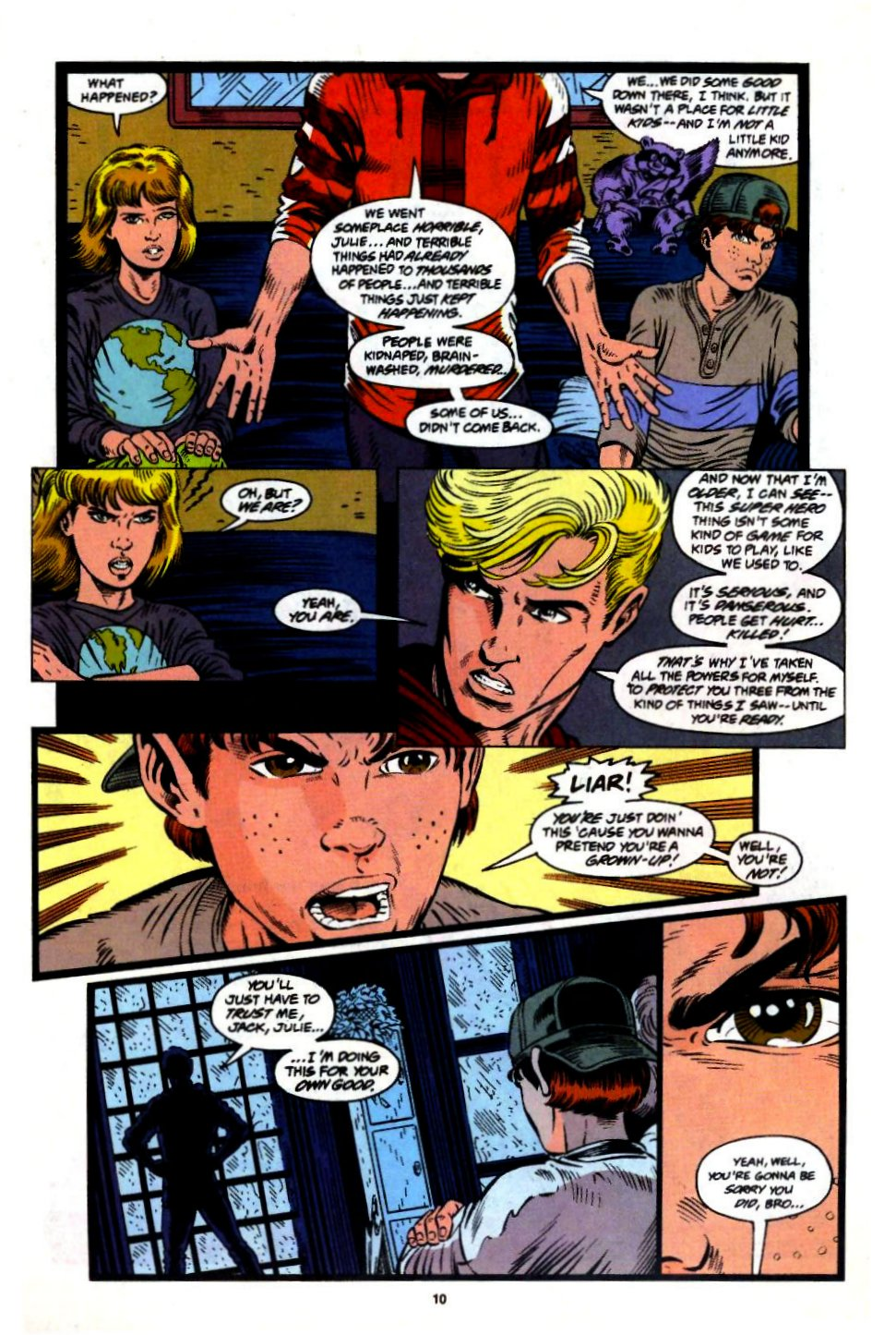 The New Warriors Issue #57 #61 - English 9