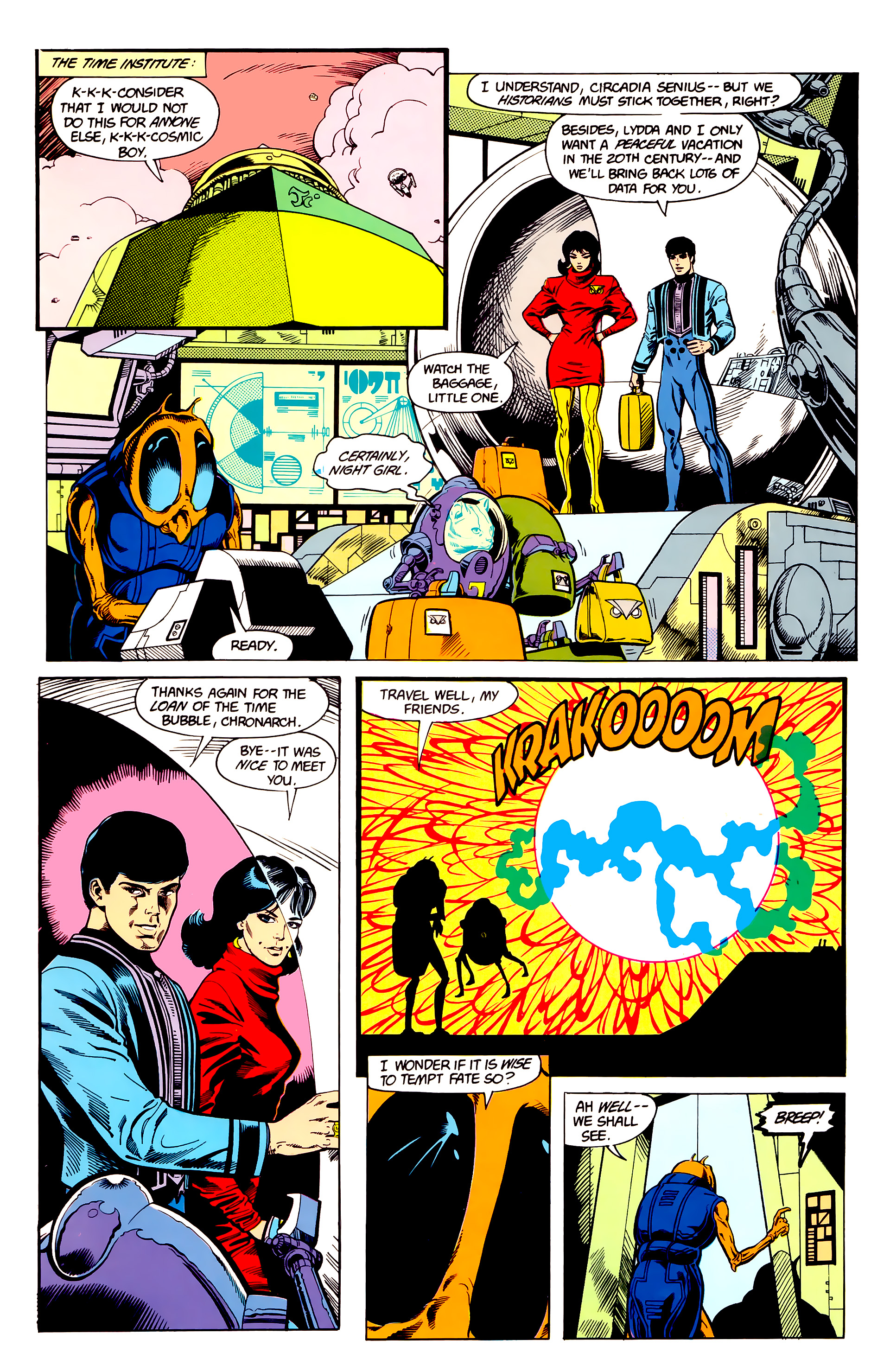 Legion of Super-Heroes (1984) 23 Page 12