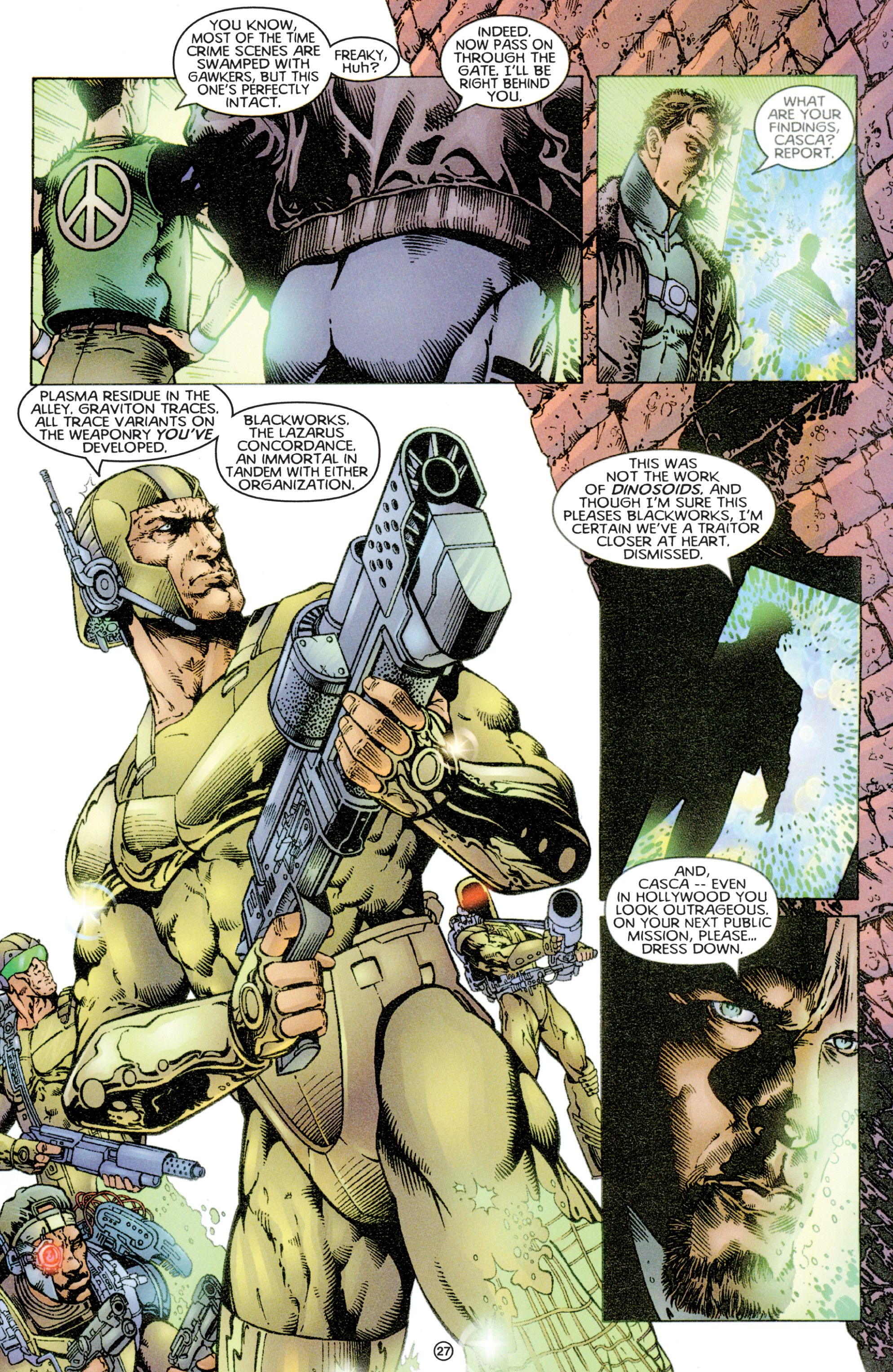 Read online Eternal Warriors comic -  Issue # Issue Time & Treachery - 26