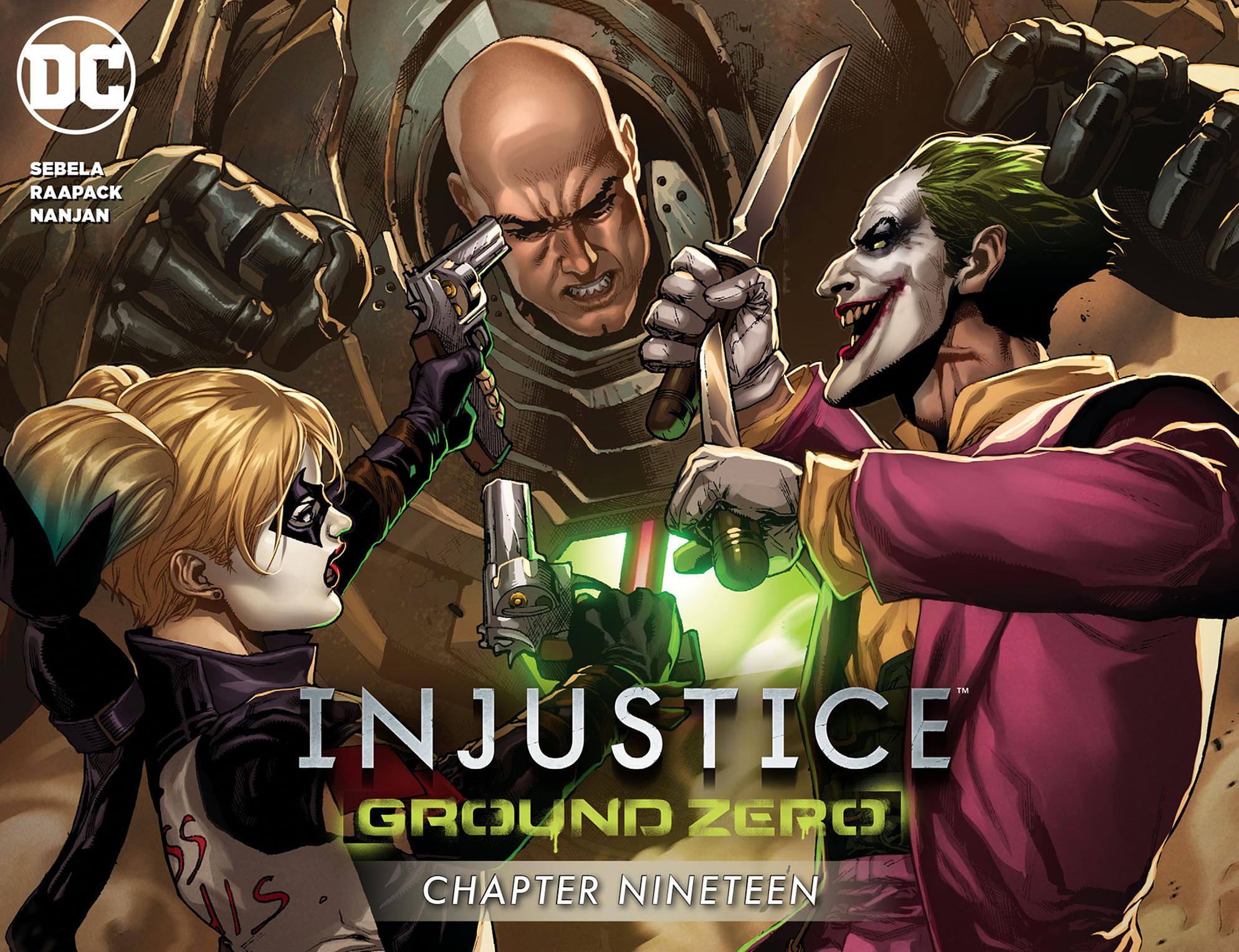 Read online Injustice: Ground Zero comic -  Issue #19 - 1