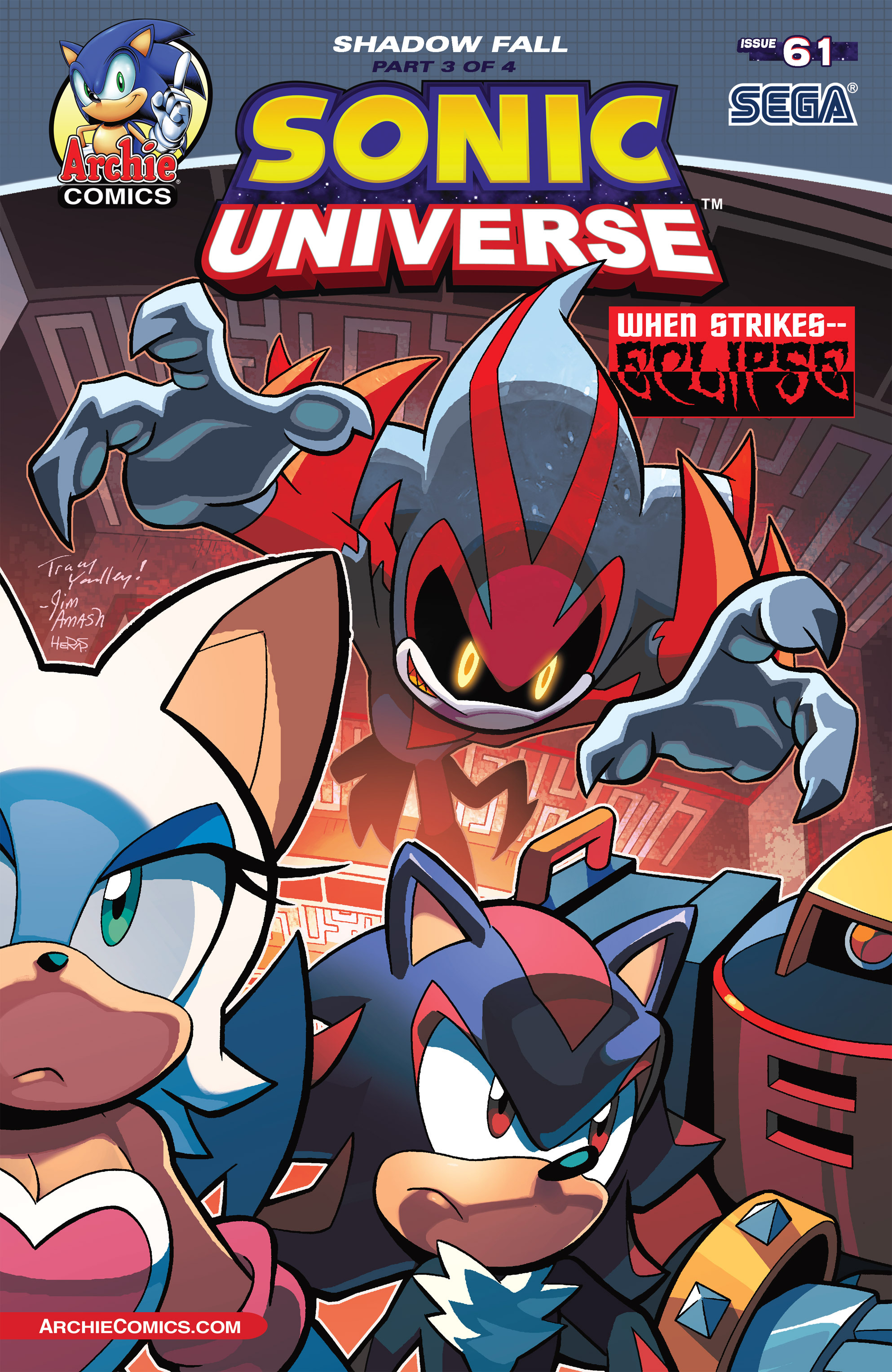 Sonic Universe 61 Page 1