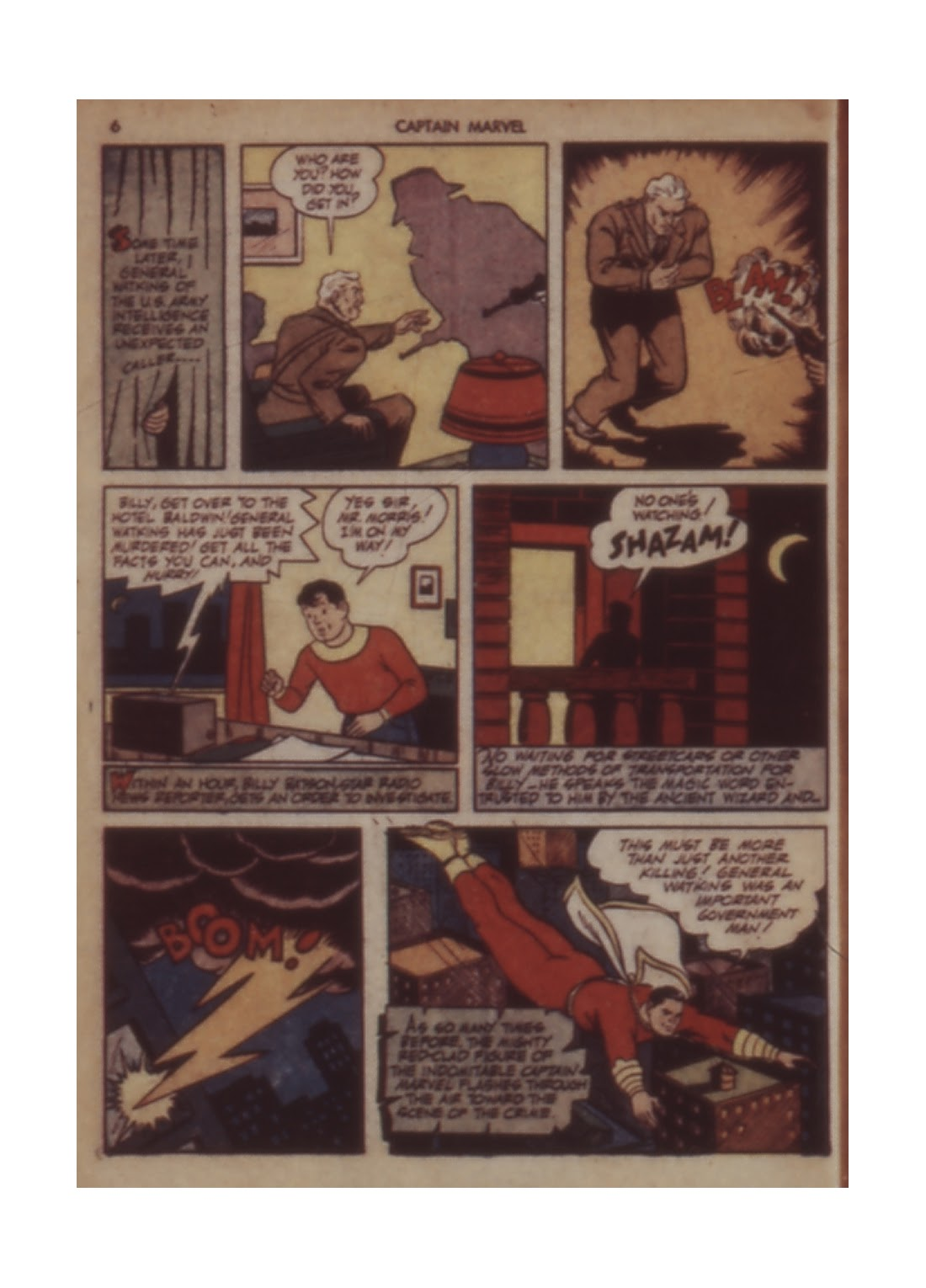 Captain Marvel Adventures issue 11 - Page 6