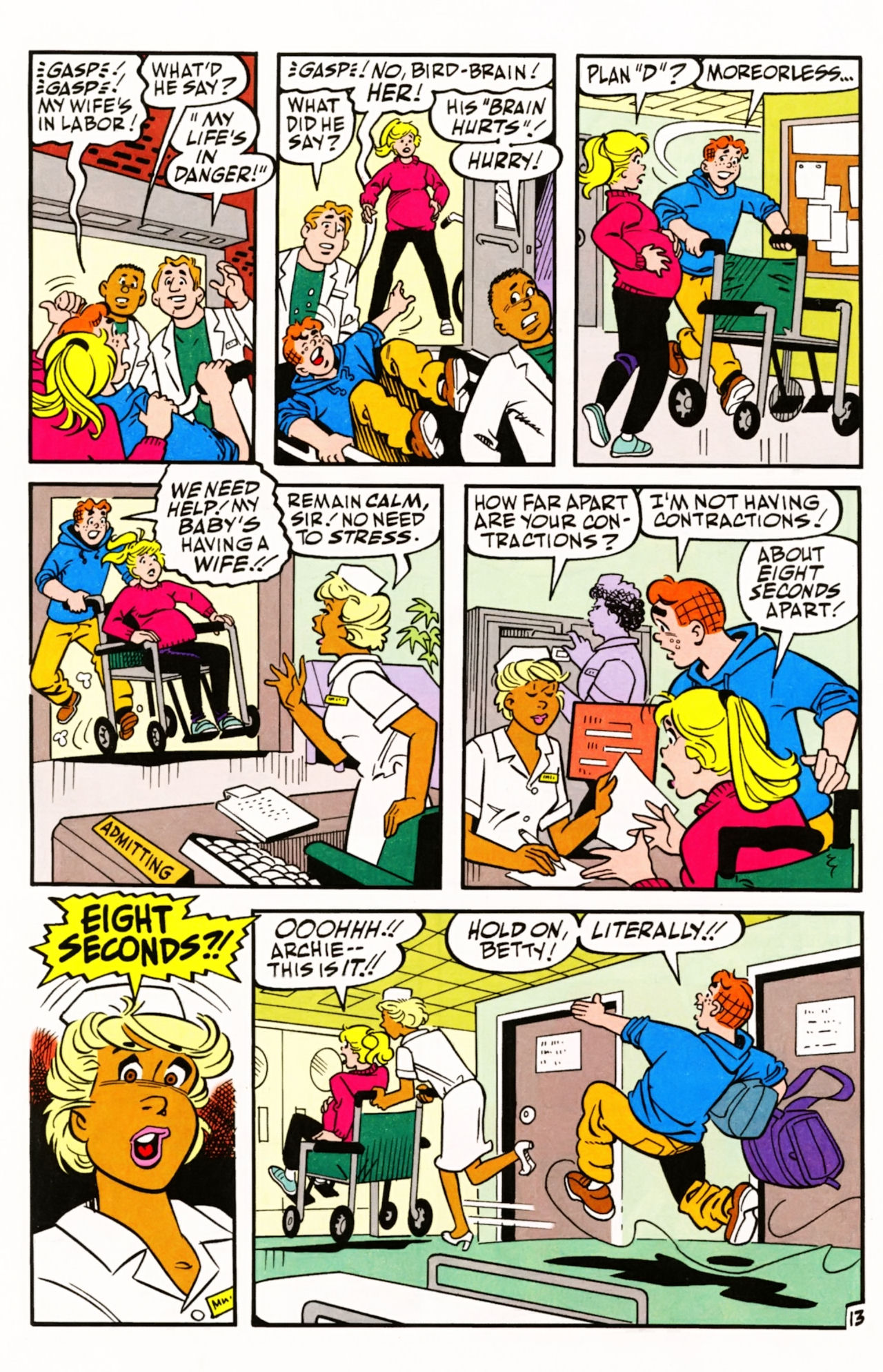 Read online Archie (1960) comic -  Issue #605 - 20
