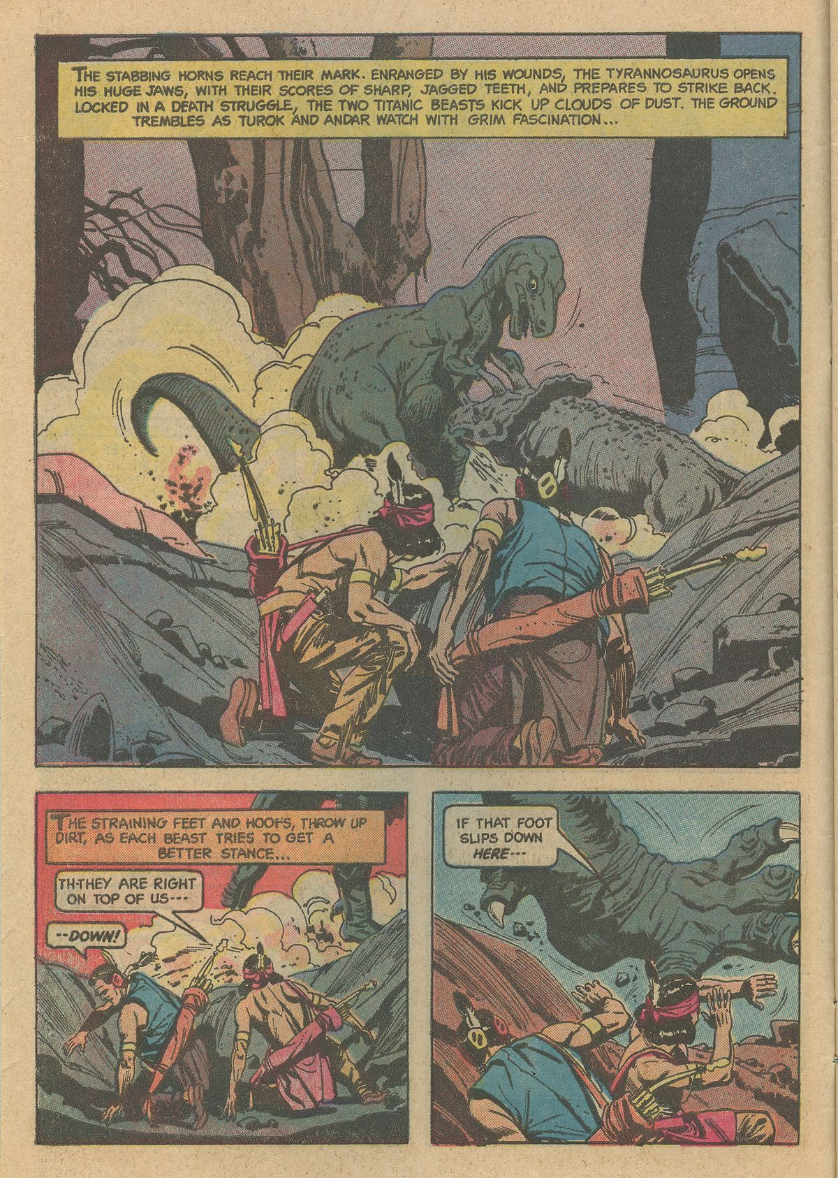 Read online Turok, Son of Stone comic -  Issue #128 - 6