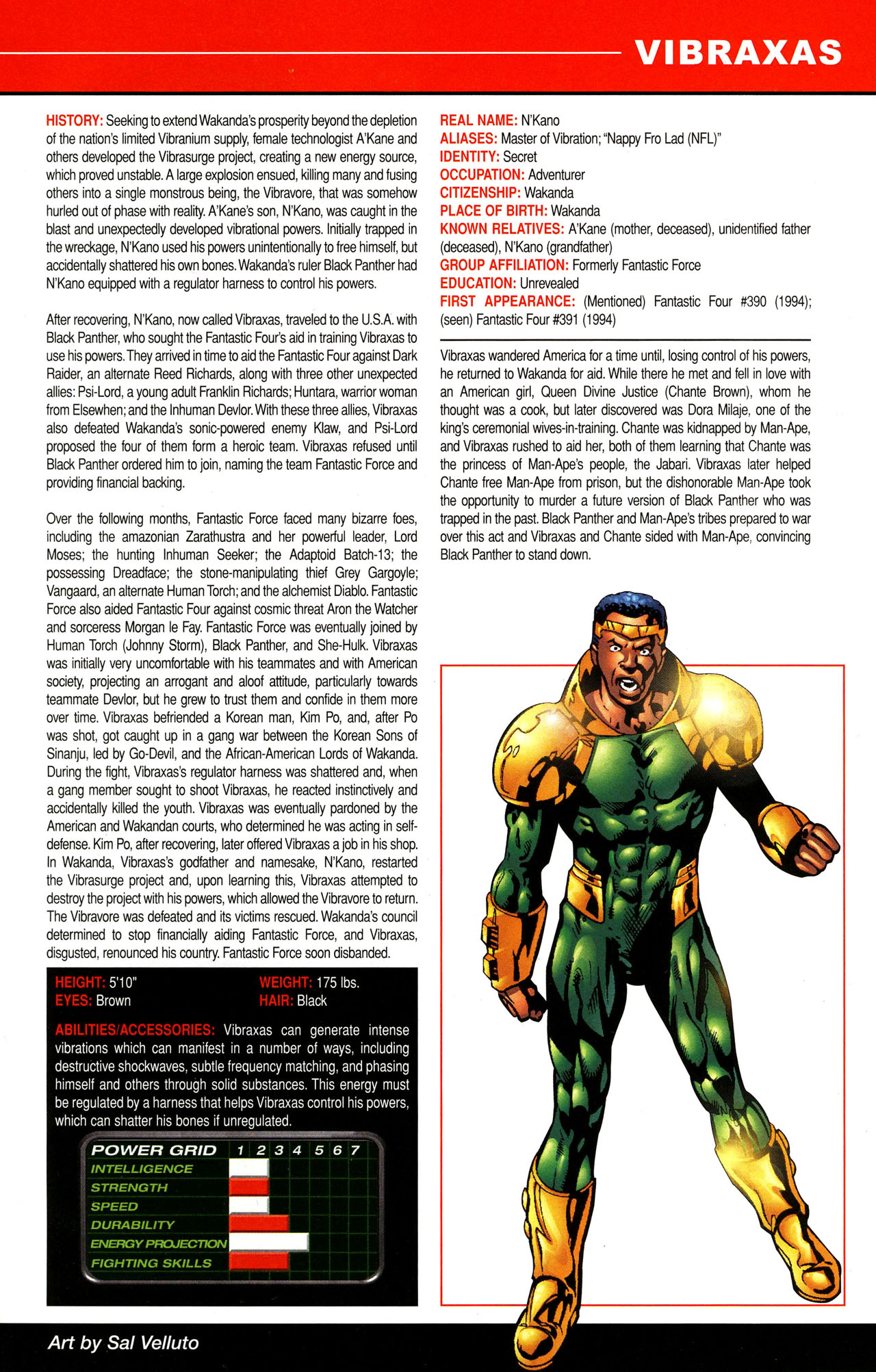 Read online All-New Official Handbook of the Marvel Universe A to Z comic -  Issue #12 - 21