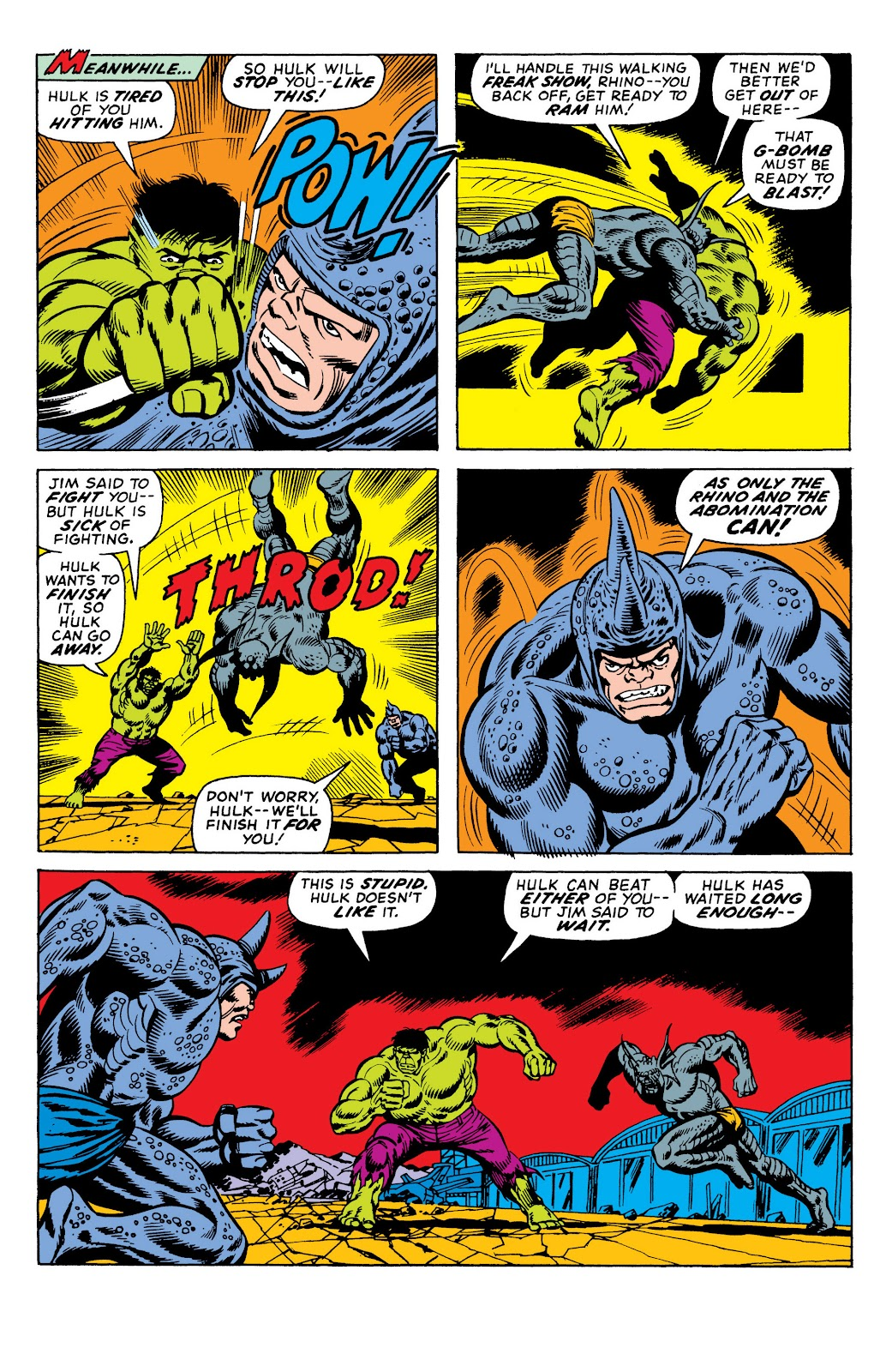 Read online Marvel Masterworks: The Incredible Hulk comic -  Issue # TPB 10 (Part 1) - 25