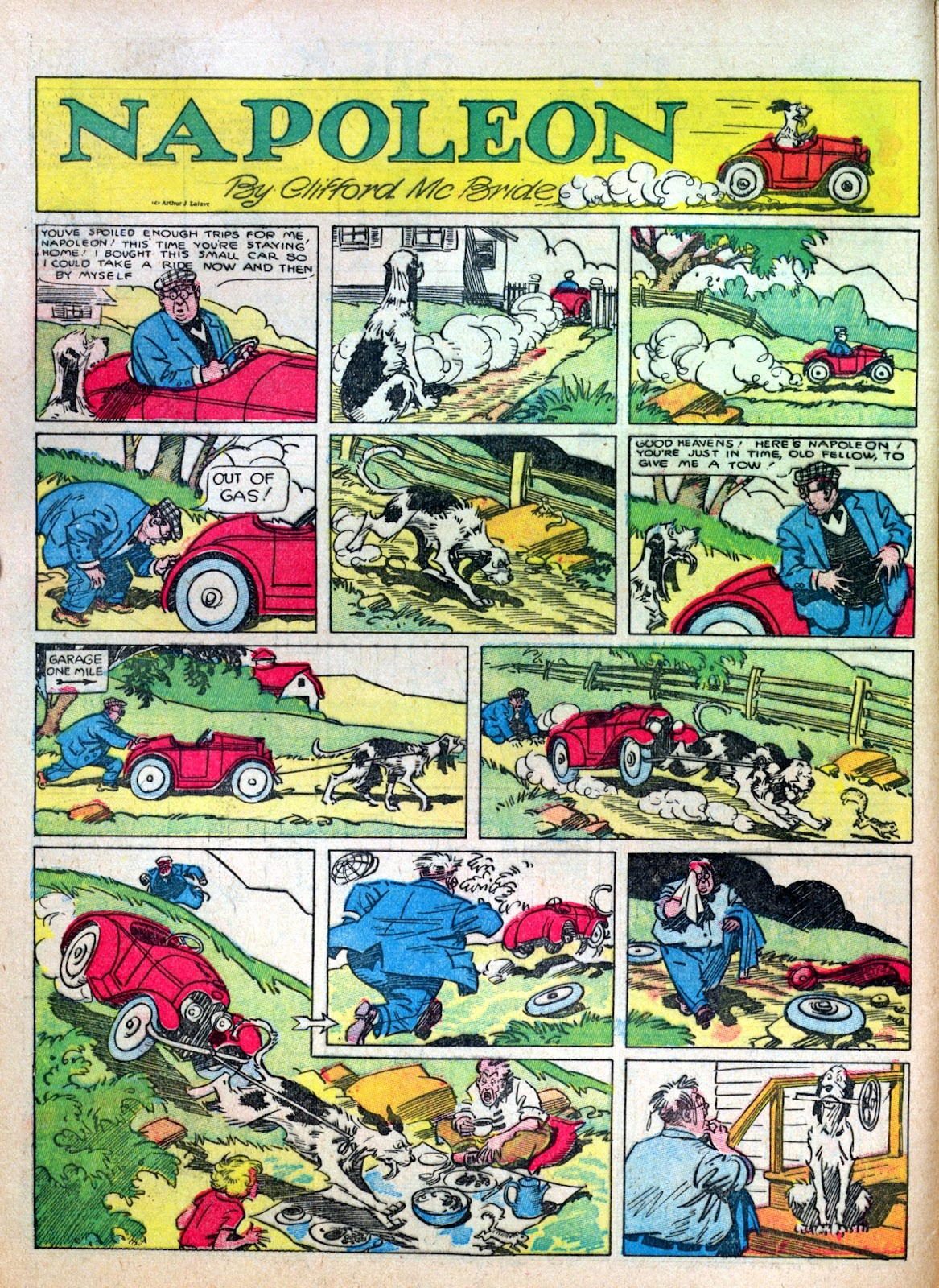 Read online Famous Funnies comic -  Issue #8 - 12
