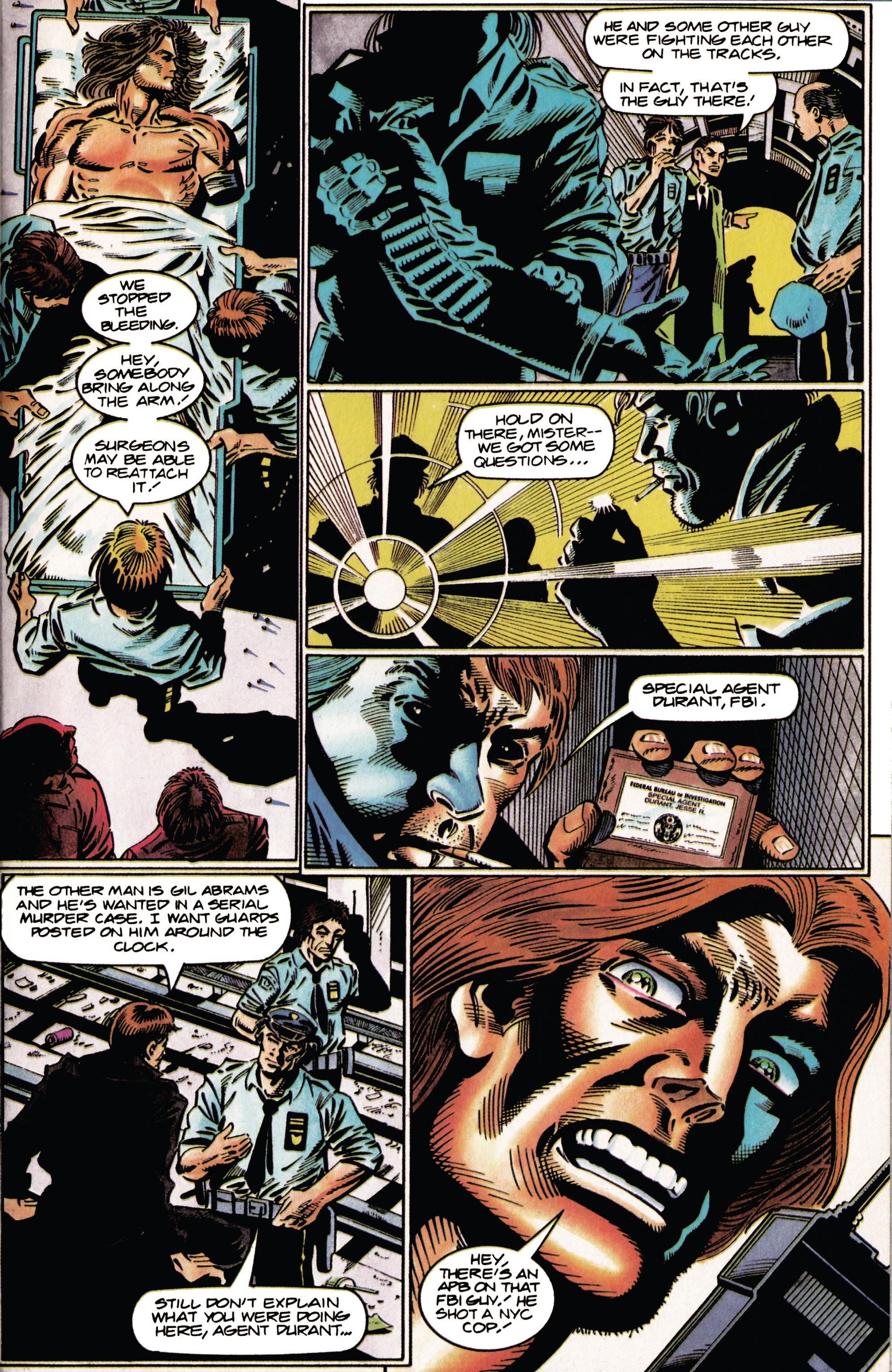 Read online Eternal Warrior (1992) comic -  Issue #35 - 7