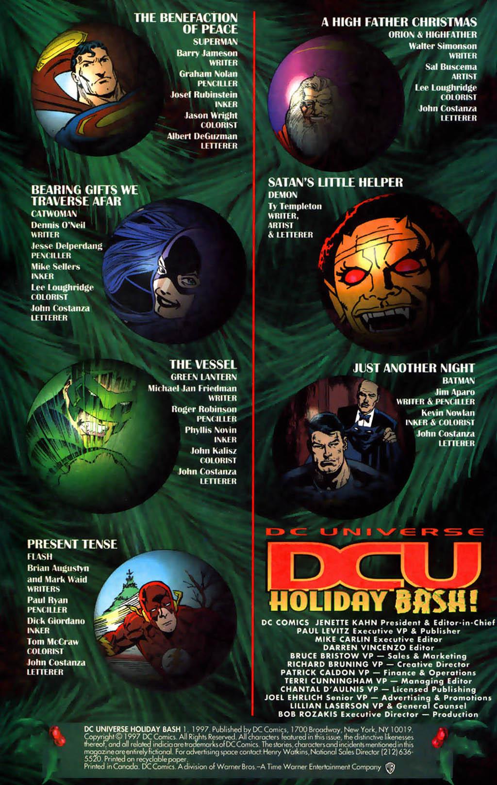 DC Universe Holiday Bash 1 Page 2