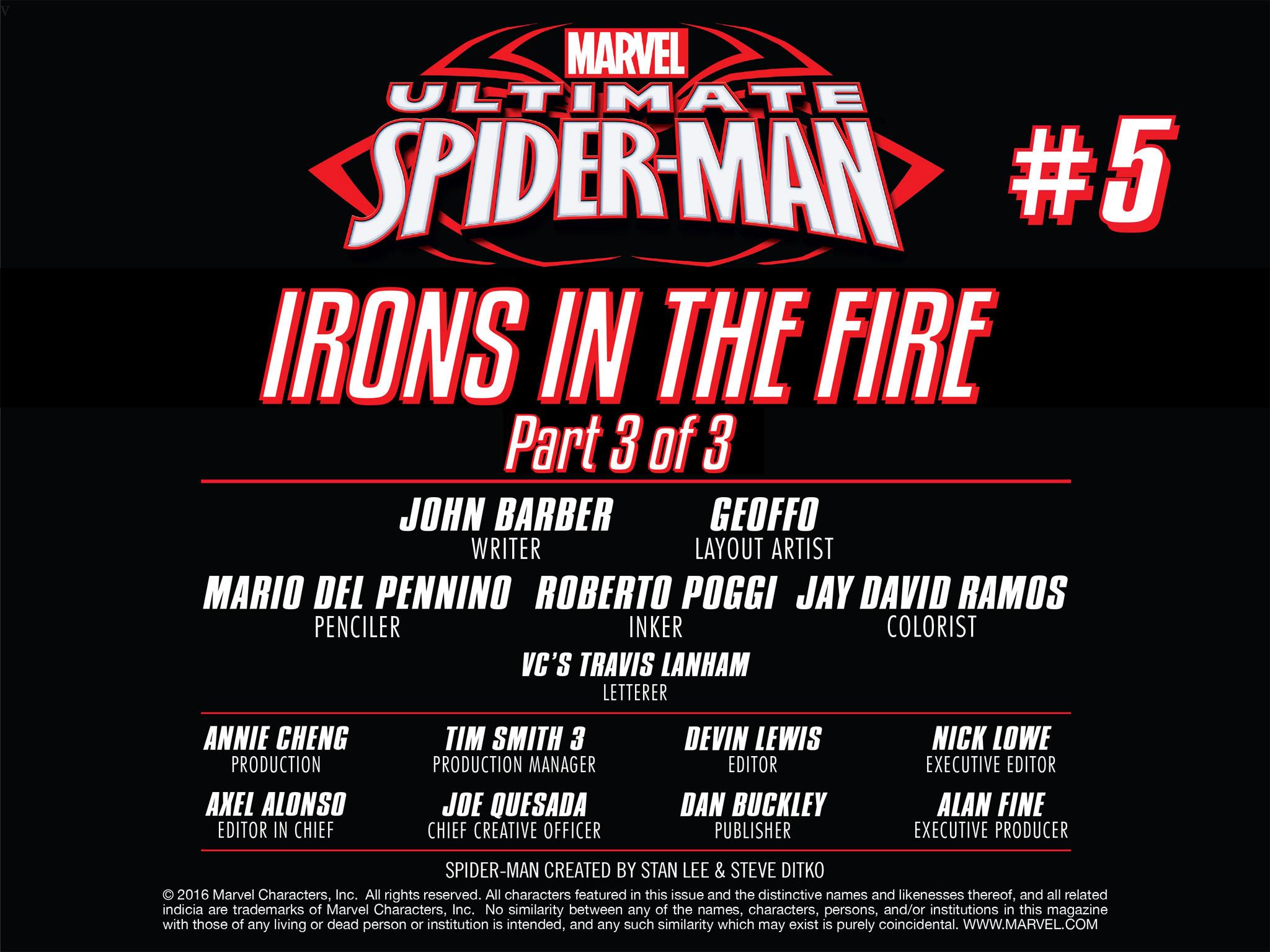 Read online Ultimate Spider-Man (Infinite Comics) (2016) comic -  Issue #5 - 16