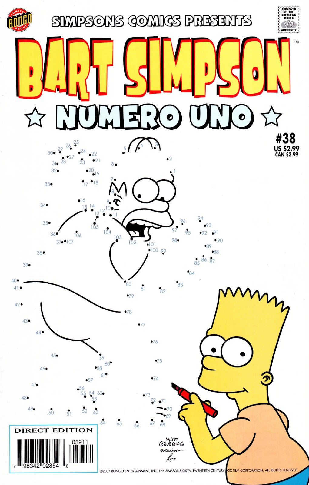 Simpsons Comics Presents Bart Simpson 38 Page 1
