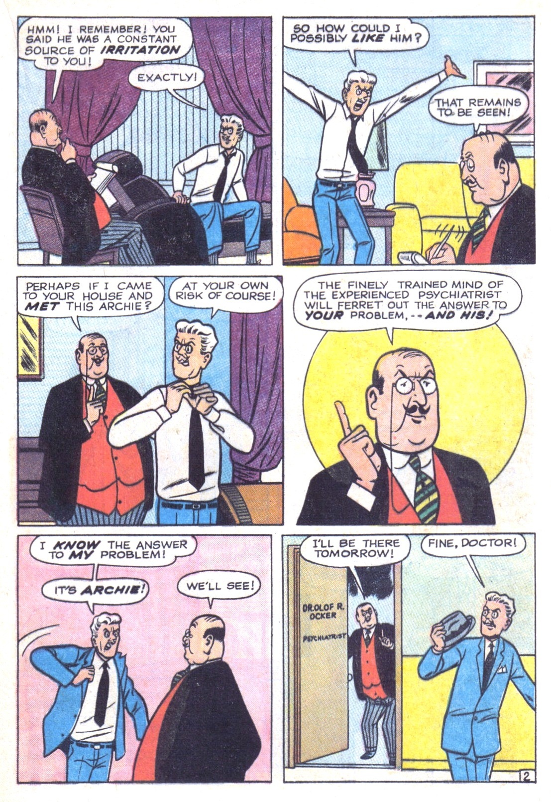 Read online Archie (1960) comic -  Issue #156 - 21