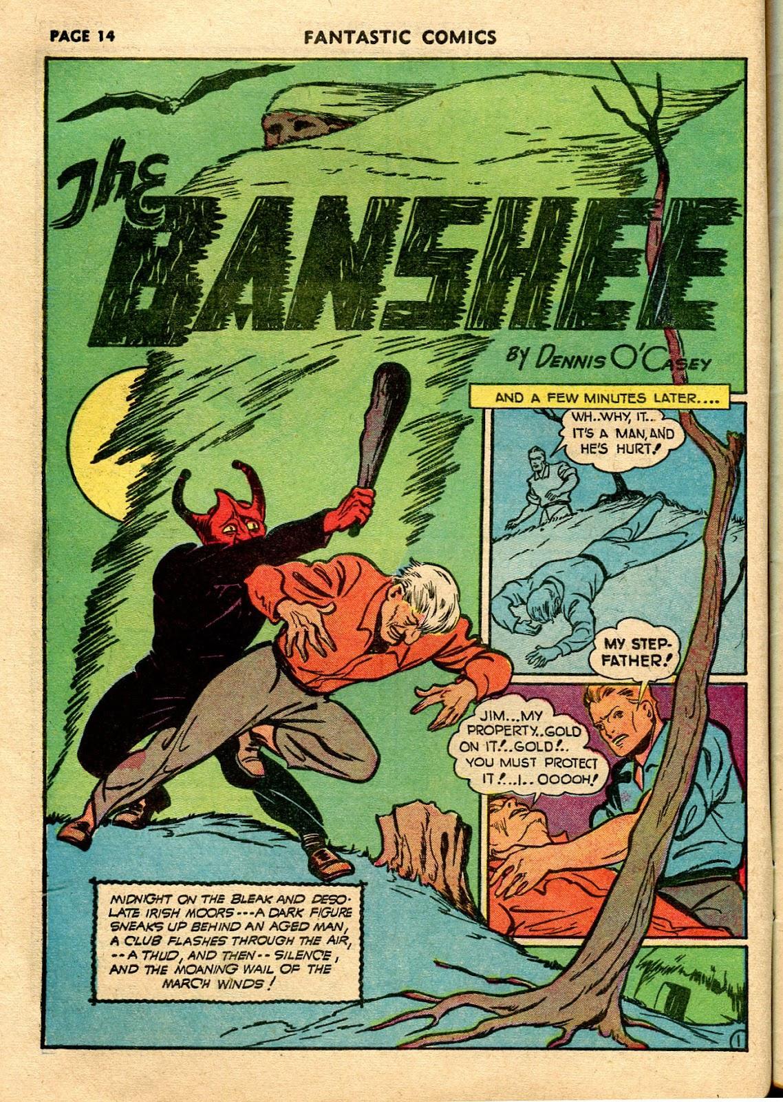 Read online Fantastic Comics comic -  Issue #21 - 16
