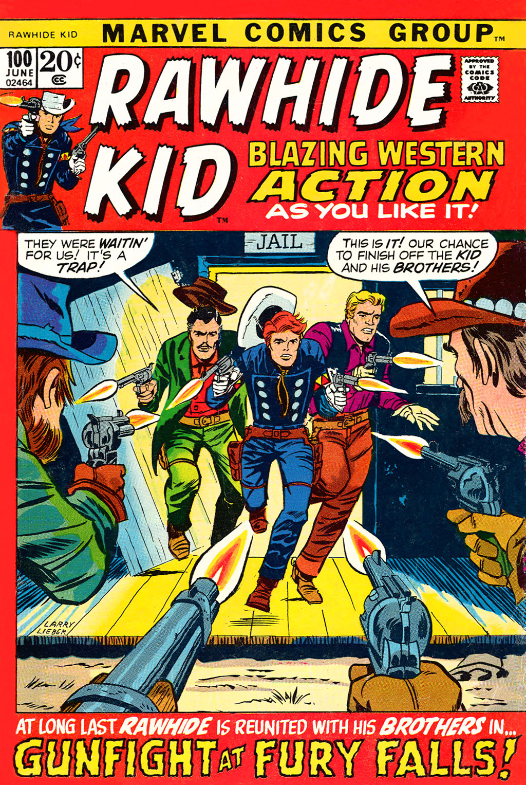 The Rawhide Kid (1955) issue 100 - Page 1