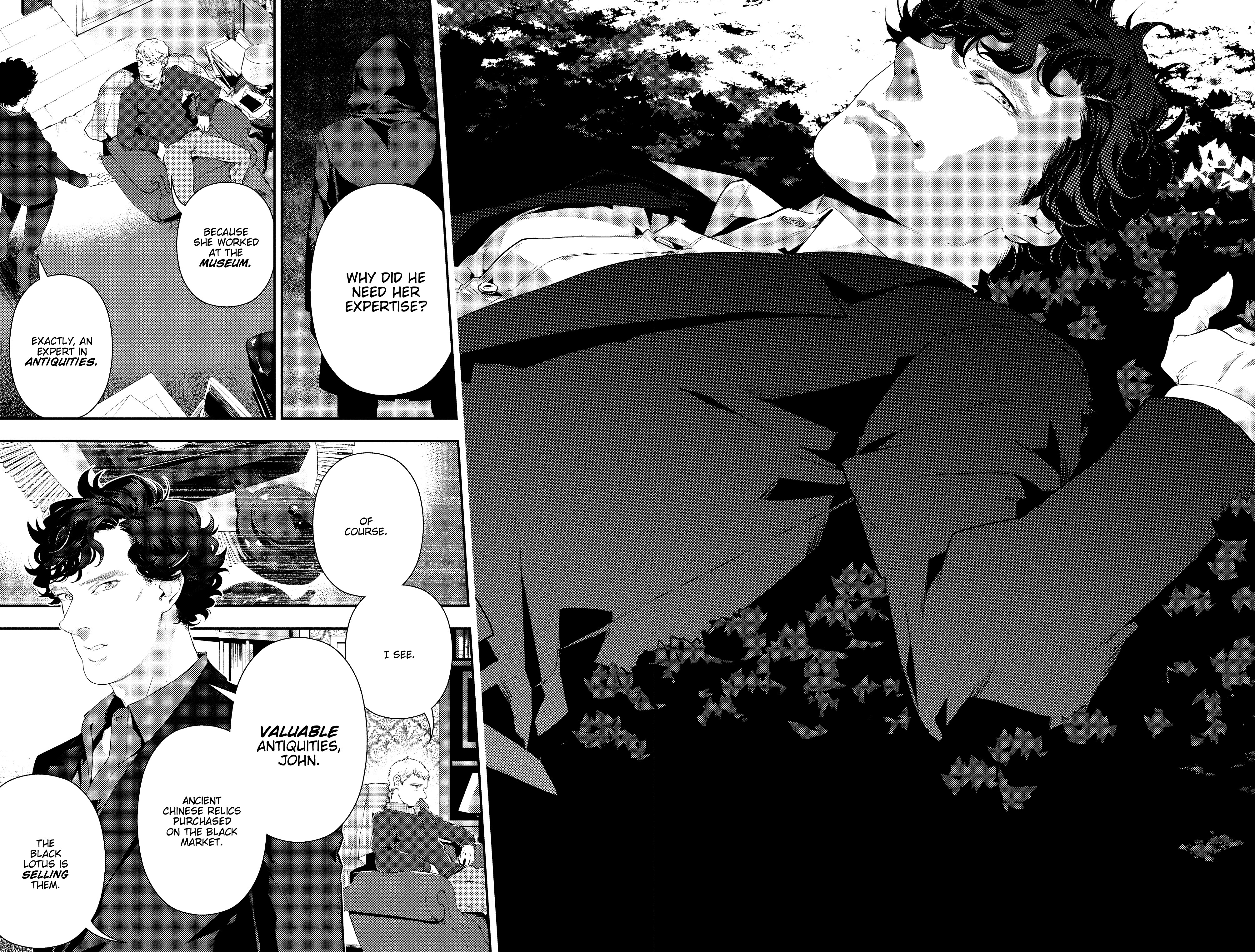 Read online Sherlock: The Blind Banker comic -  Issue #5 - 6