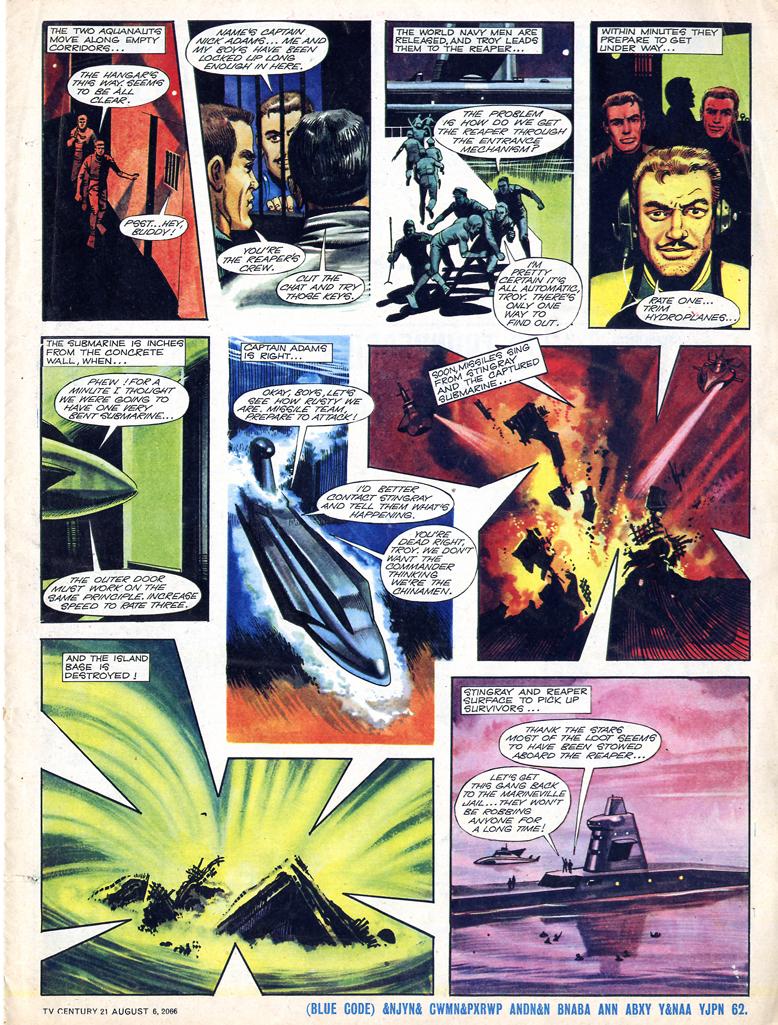 Read online TV Century 21 (TV 21) comic -  Issue #81 - 5