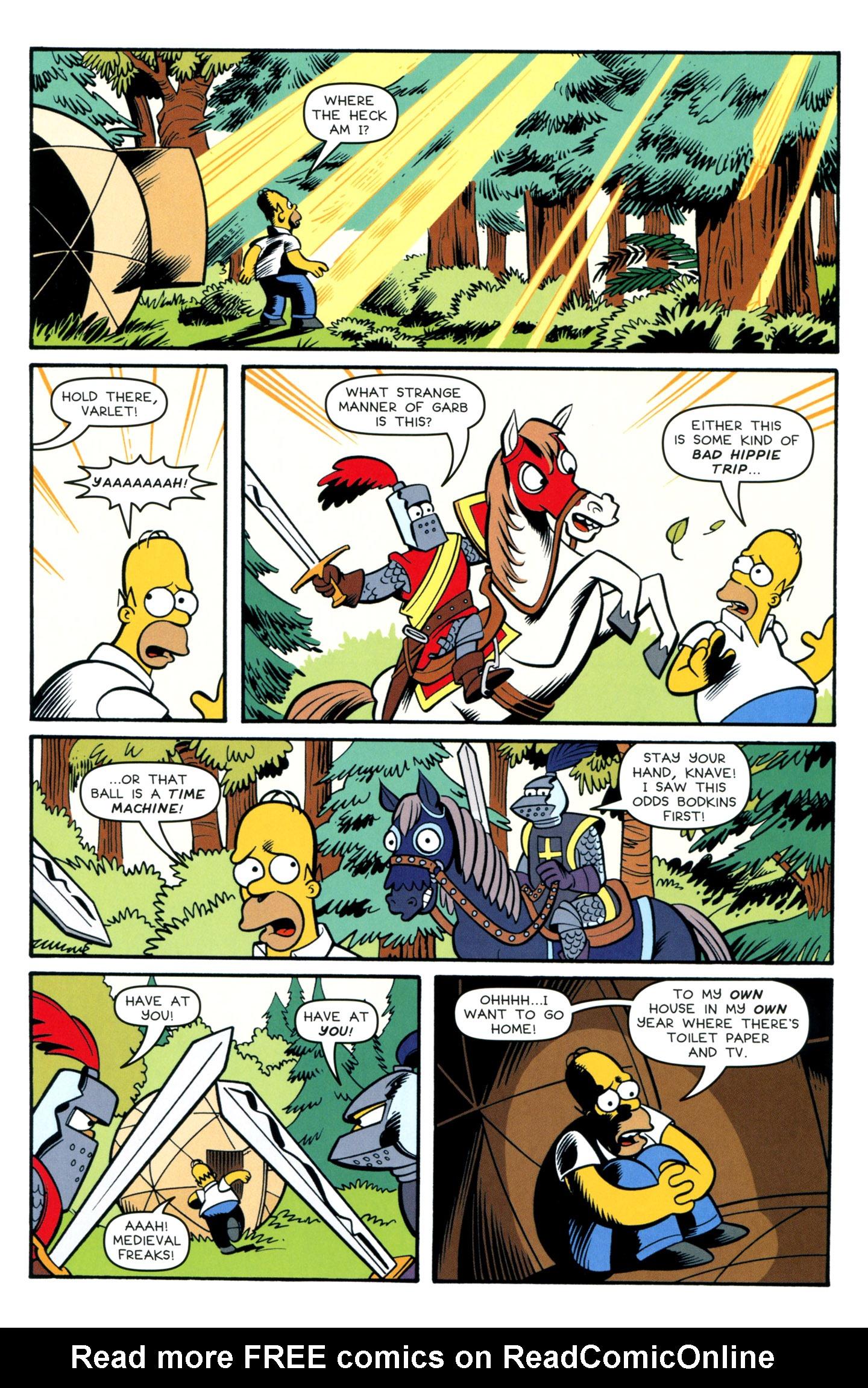 Read online Simpsons Comics comic -  Issue #195 - 10