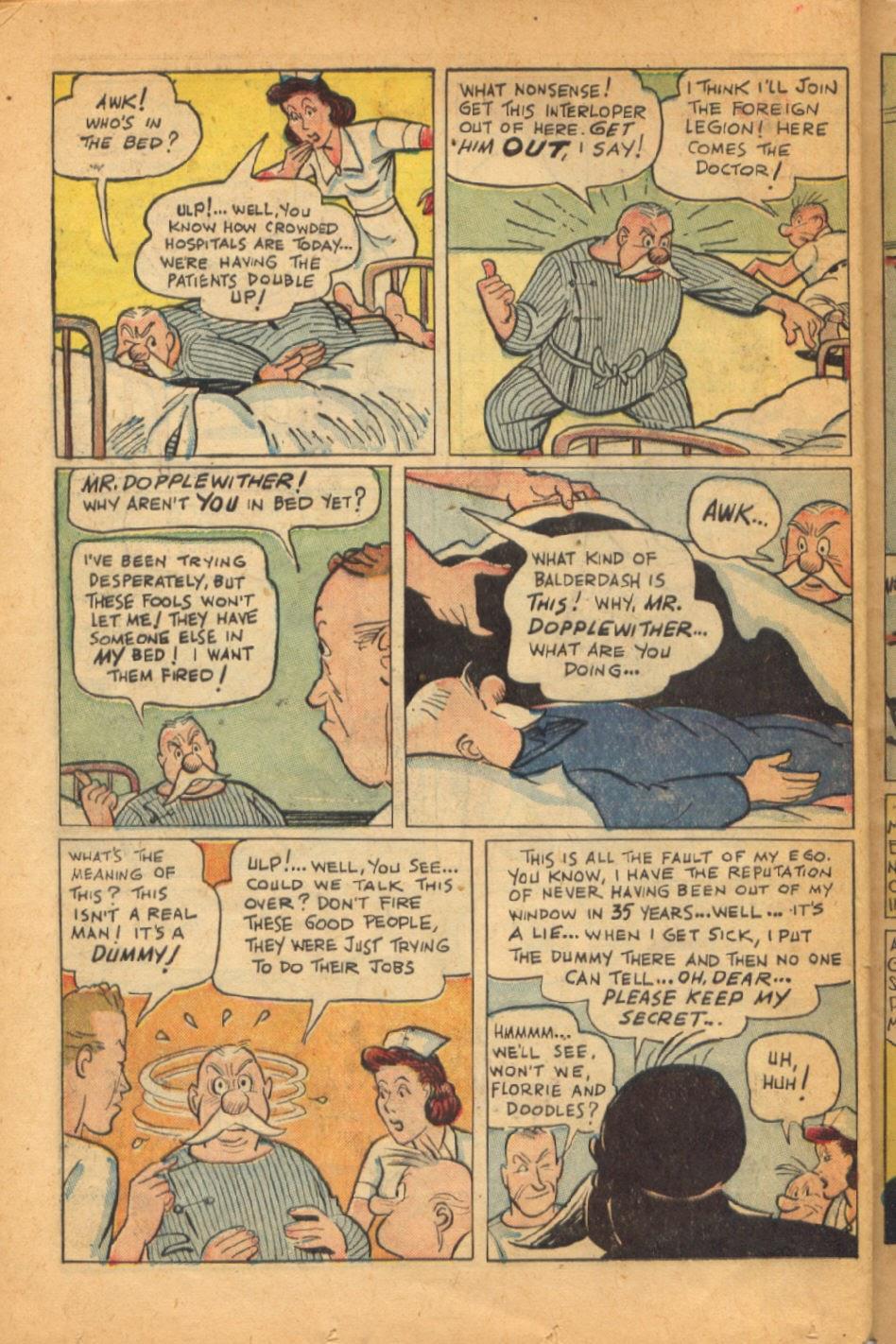 Read online Super-Magician Comics comic -  Issue #52 - 39