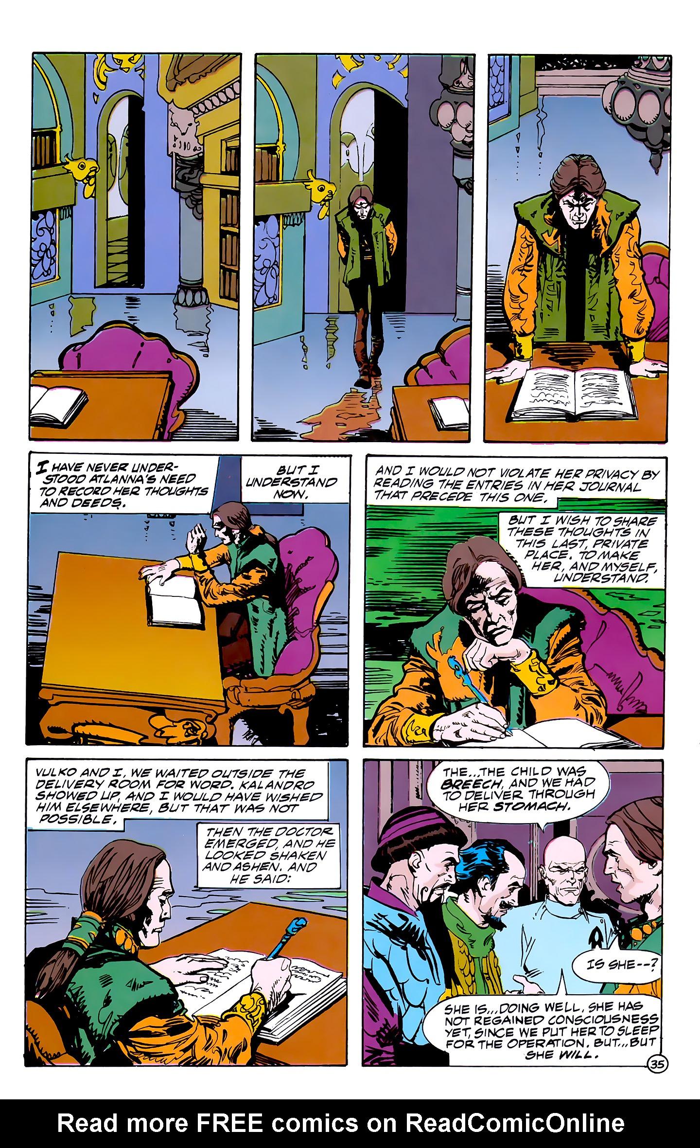 Read online Atlantis Chronicles comic -  Issue #7 - 36