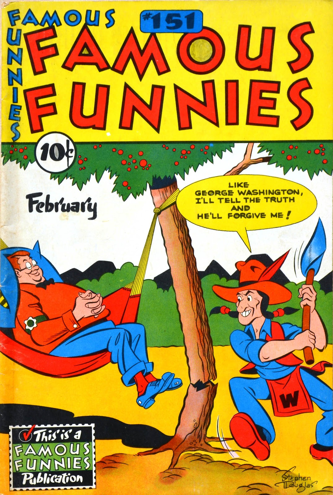 Read online Famous Funnies comic -  Issue #151 - 1