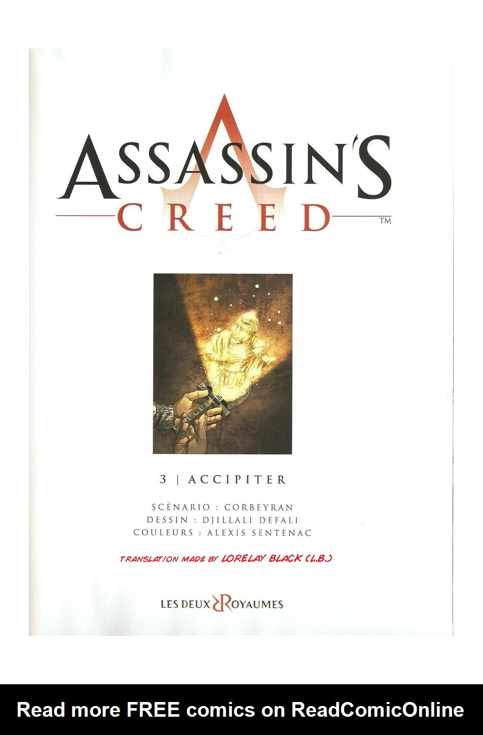 Read online Assassin's Creed (2009) comic -  Issue #3 - 2
